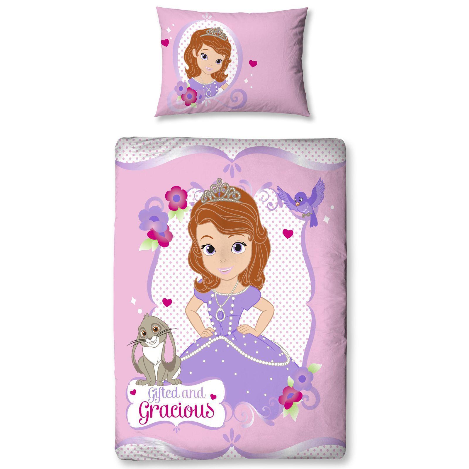 disney sofia the first bedding single double junior