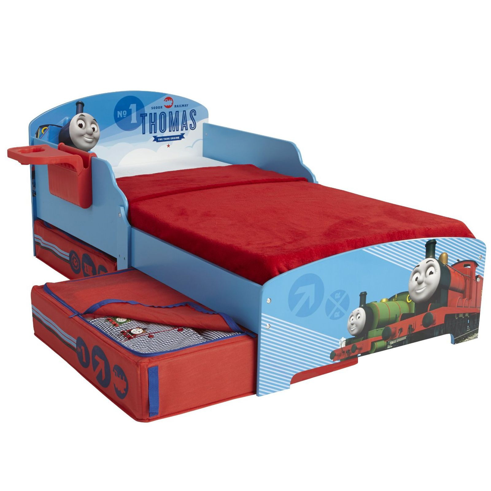 THOMAS Amp FRIENDS TODDER BED WITH STORAGE Amp SHELF DELUXE