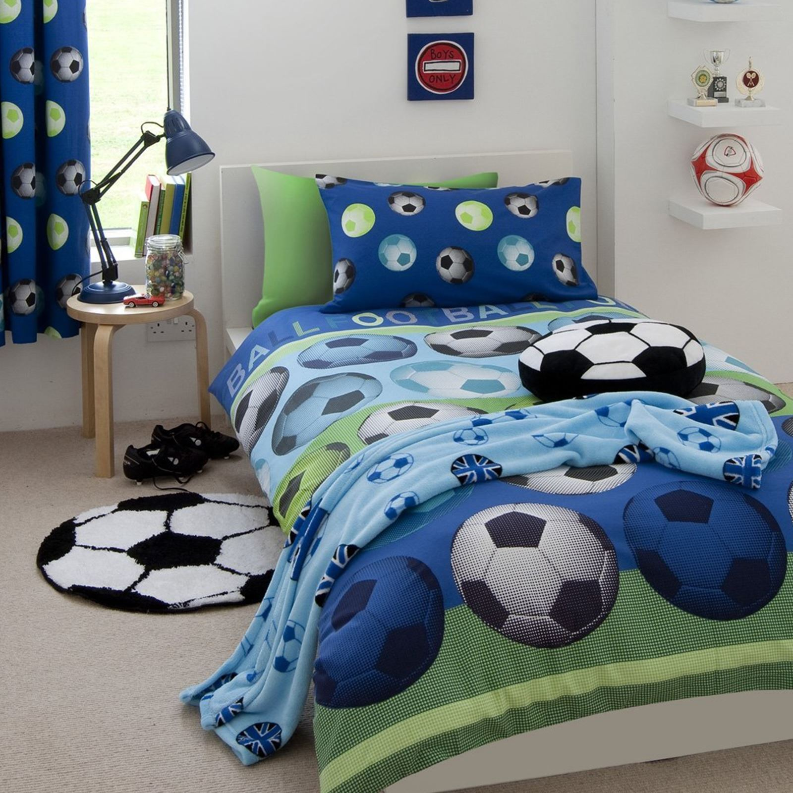 Field Goal Bedroom Decor