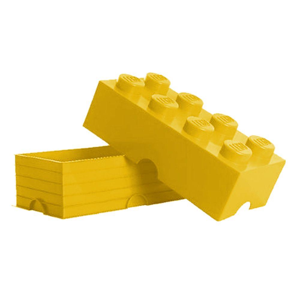 Lego stockage brique 8 jaune enfants salle de jeux for Ikea salle de stockage de jouets