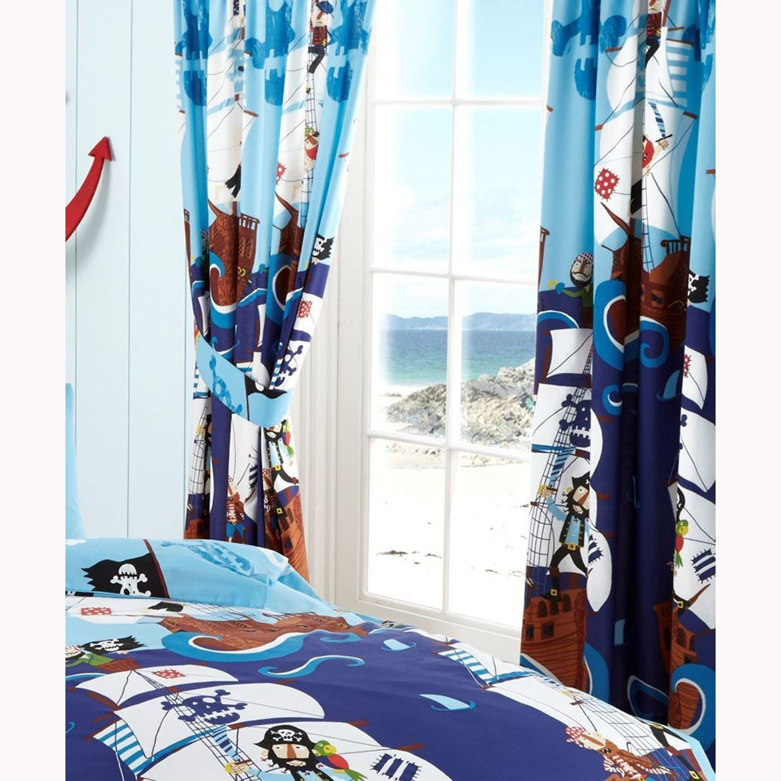boys bedroom curtains 66 x 72 in various designs fully