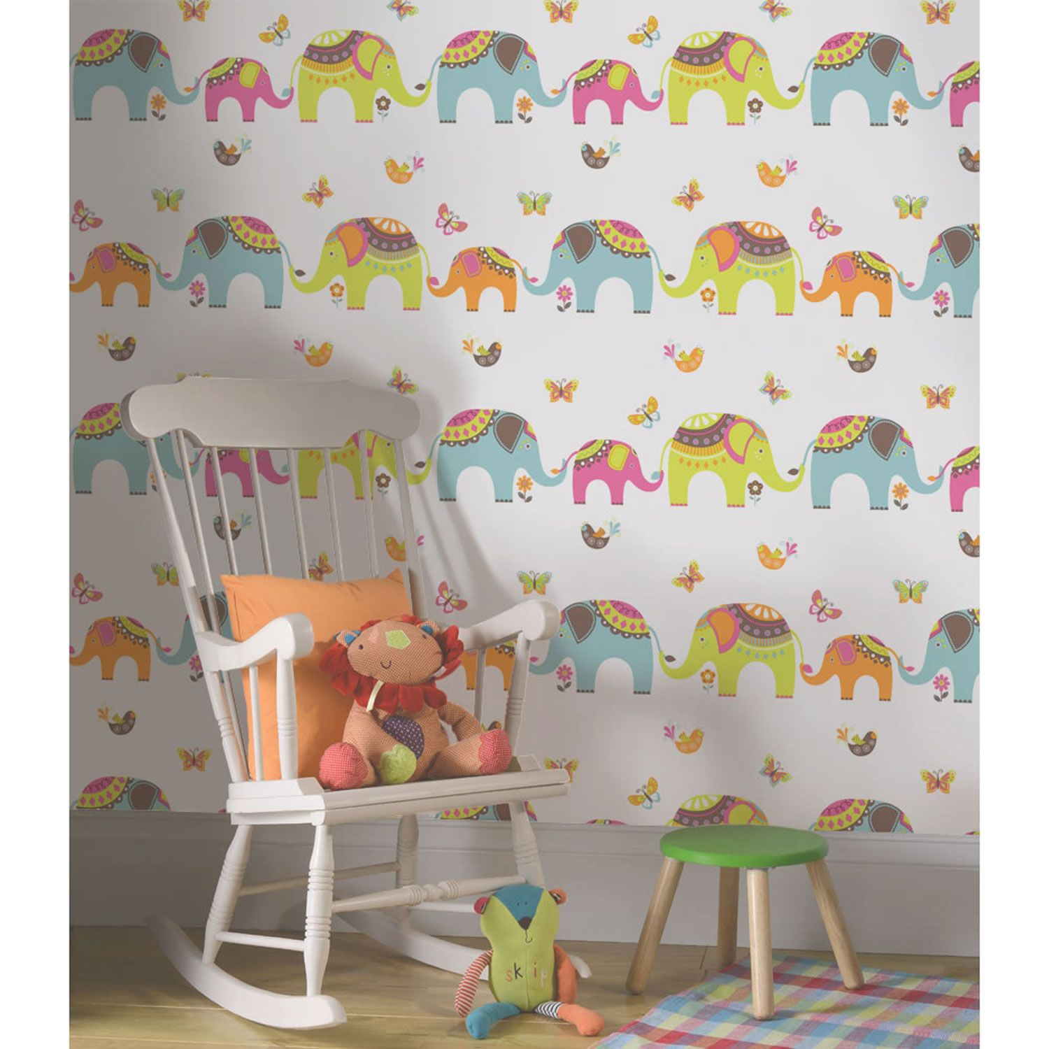 KIDS BEDROOM / NURSERY WALLPAPER HOLDEN DECOR PLAYTIME