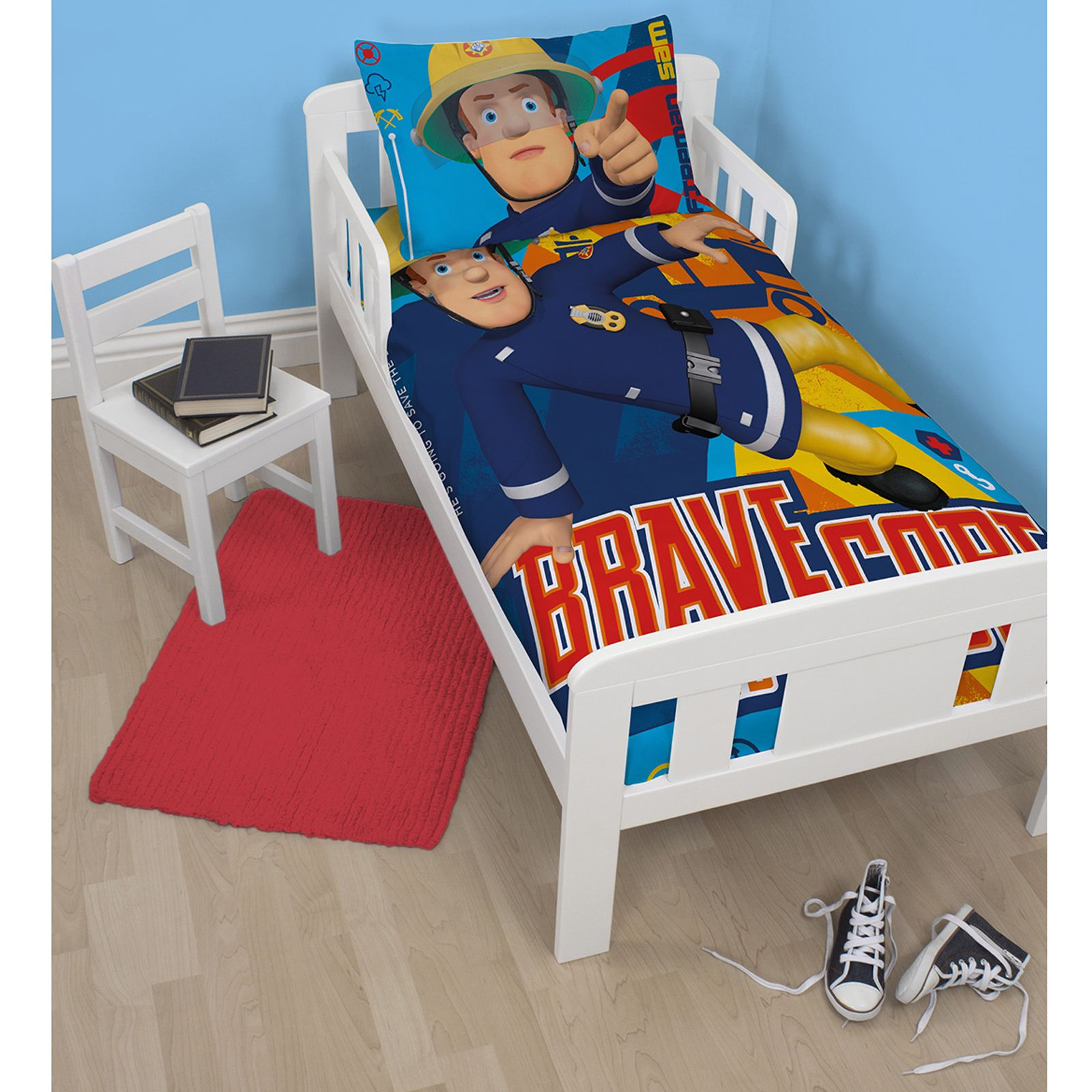 Fireman Sam Duvet Cover Sets In Single Double And Junior Sizes Boys Bedroom Ebay
