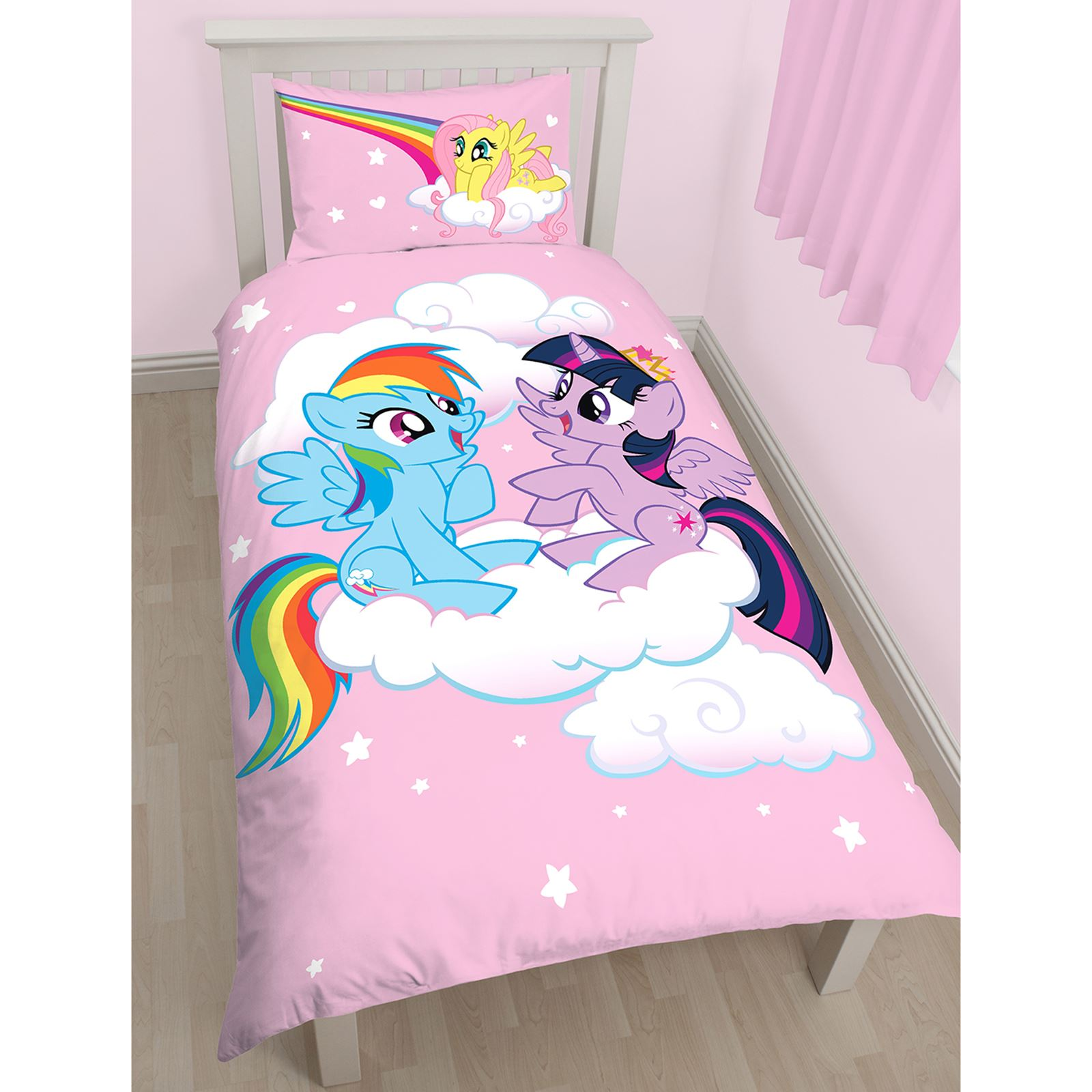 My little pony housse couette simple ensembles chambre for Literie couette