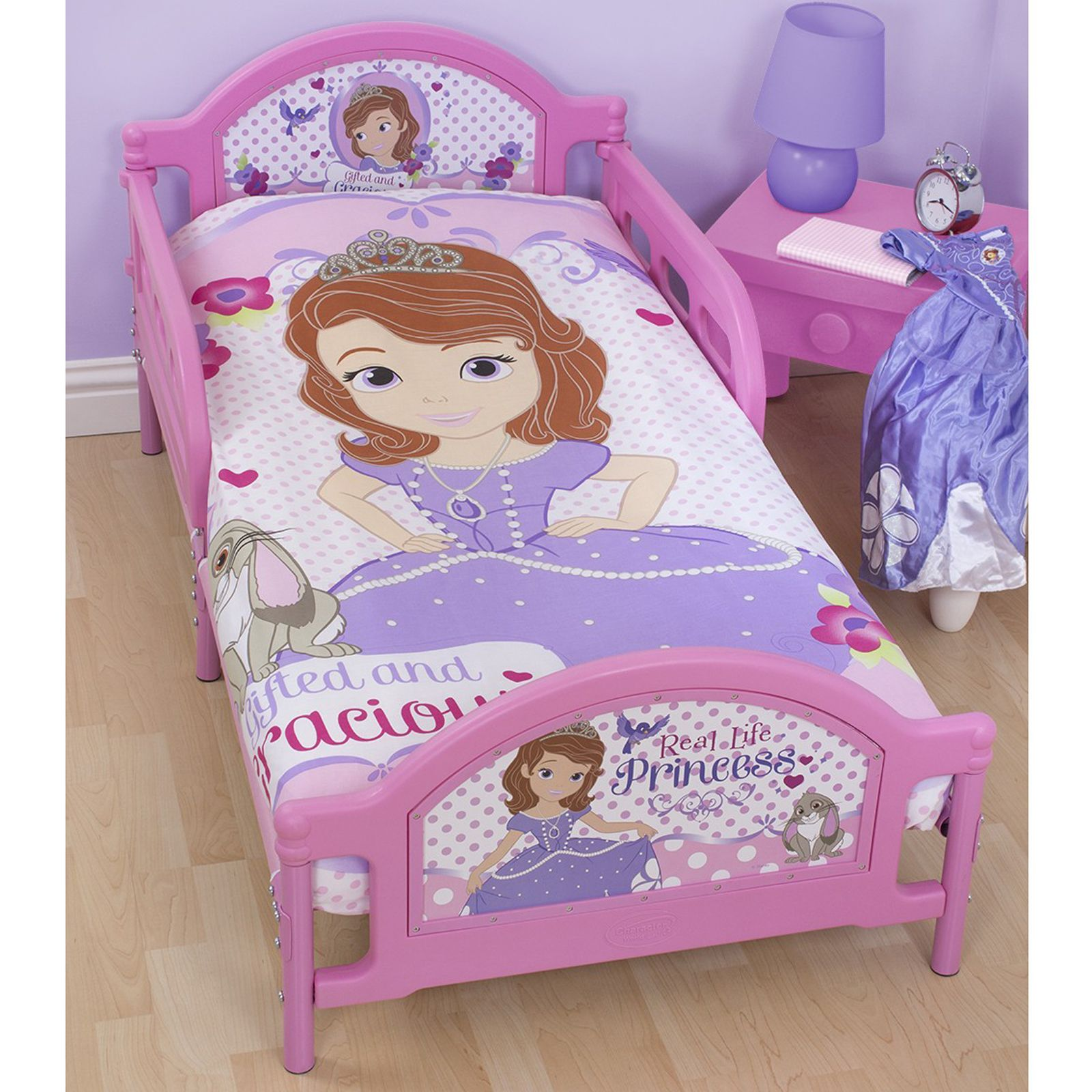 Disney Sofia The First Bedding Single Double Junior Duvet Cover