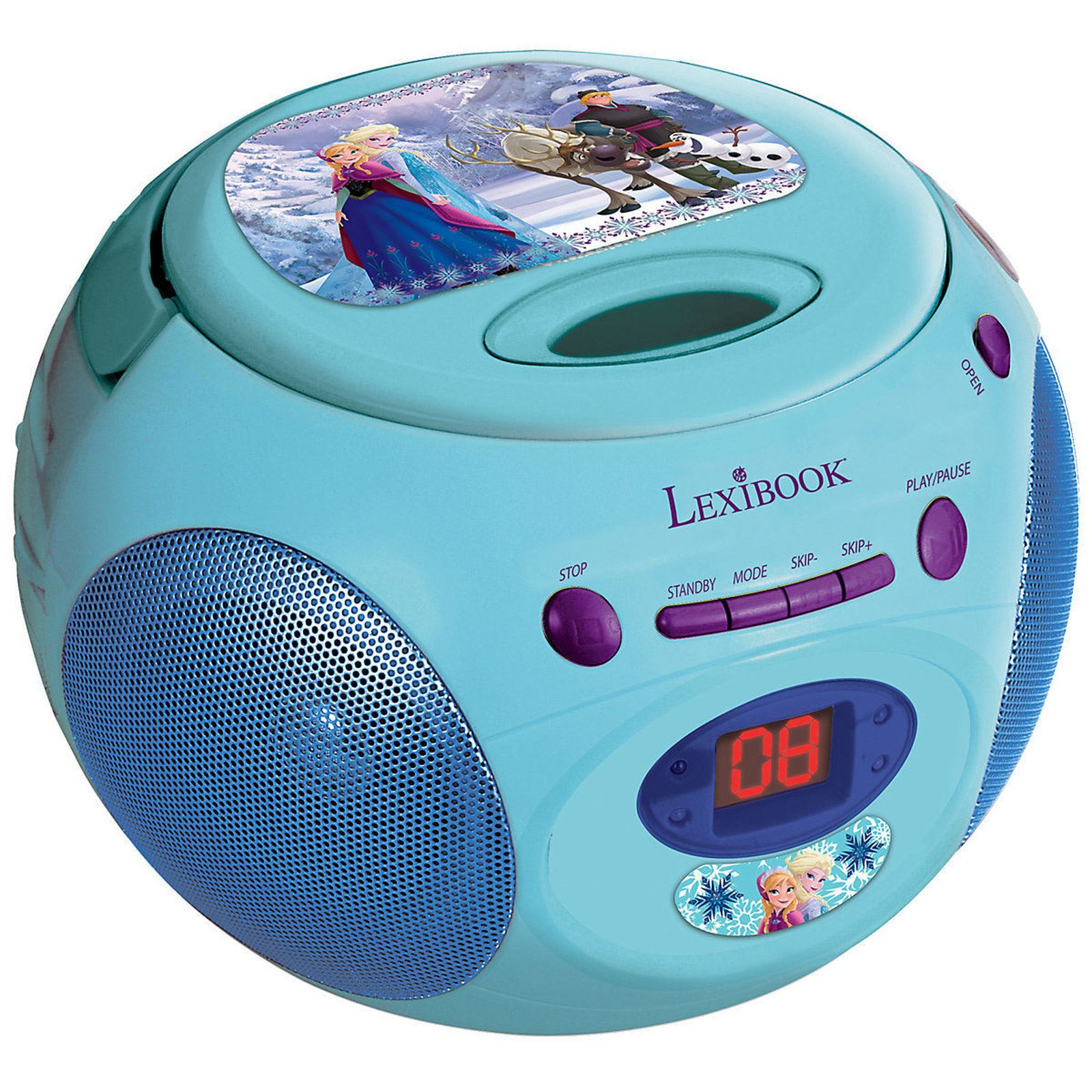 disney frozen radio cd player new by lexibook kids ebay. Black Bedroom Furniture Sets. Home Design Ideas