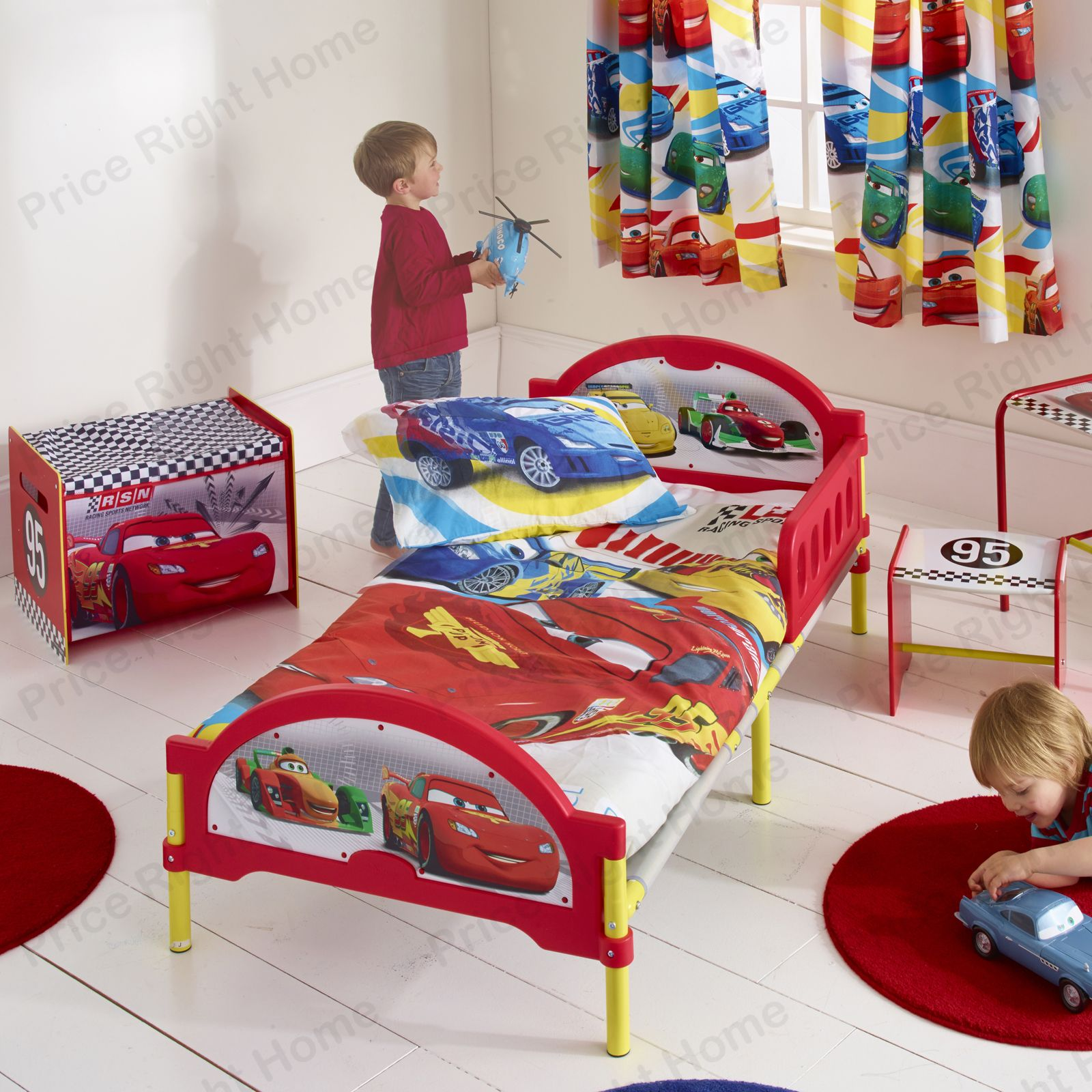 details about disney cars cosytime toddler bed mattress new official