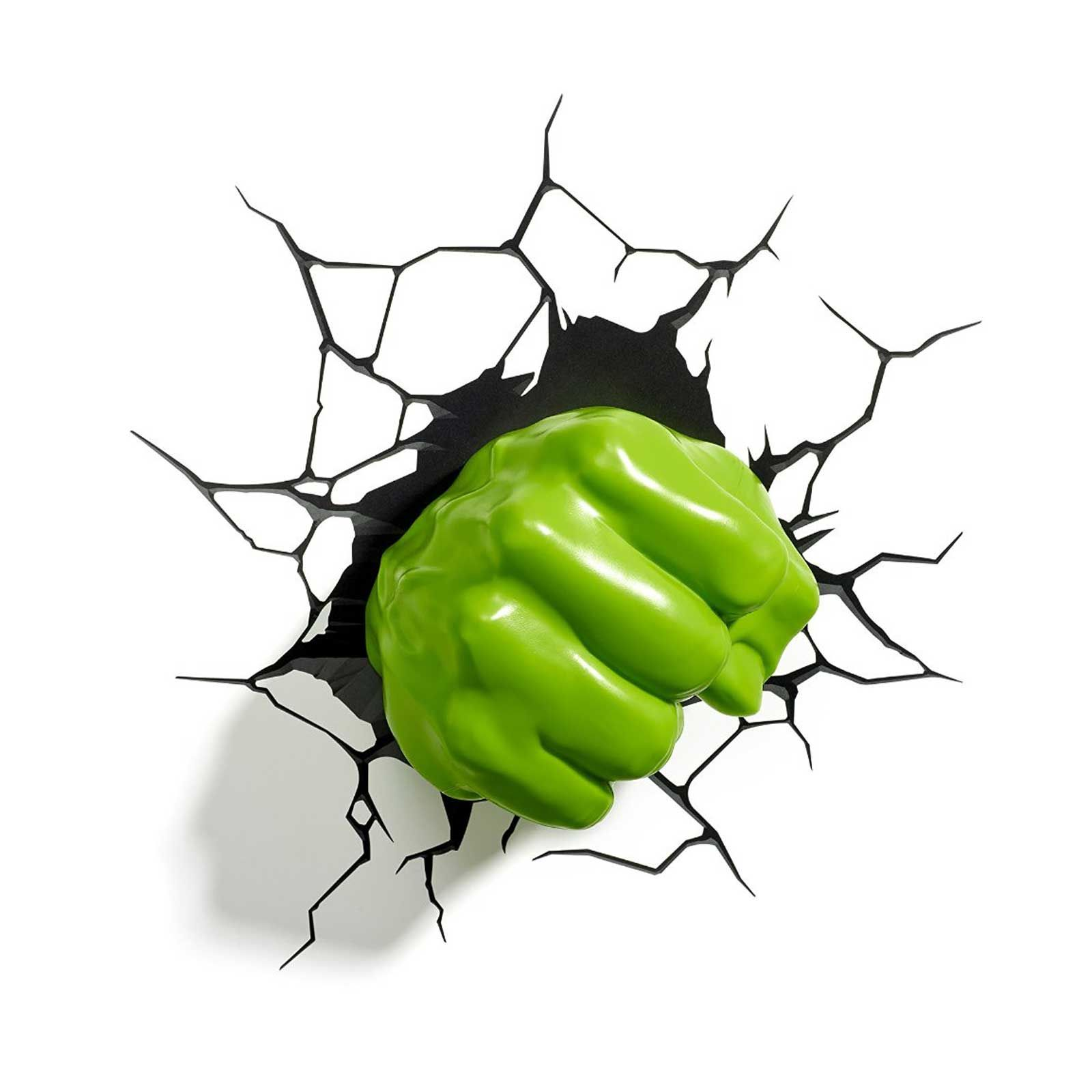 Marvel Wall Lights Hulk : MARVEL AVENGERS 3D WALL LIGHT - HULK, IRON MAN, CAPTAIN AMERICA, THOR, SPIDERMAN eBay