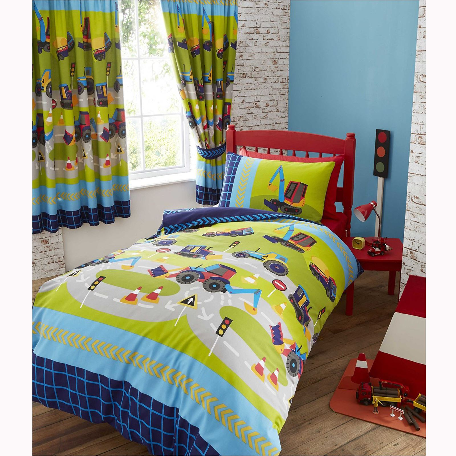 BOYS GENERIC BEDROOM CURTAINS VARIOUS DESIGNS AVAILABLE IN