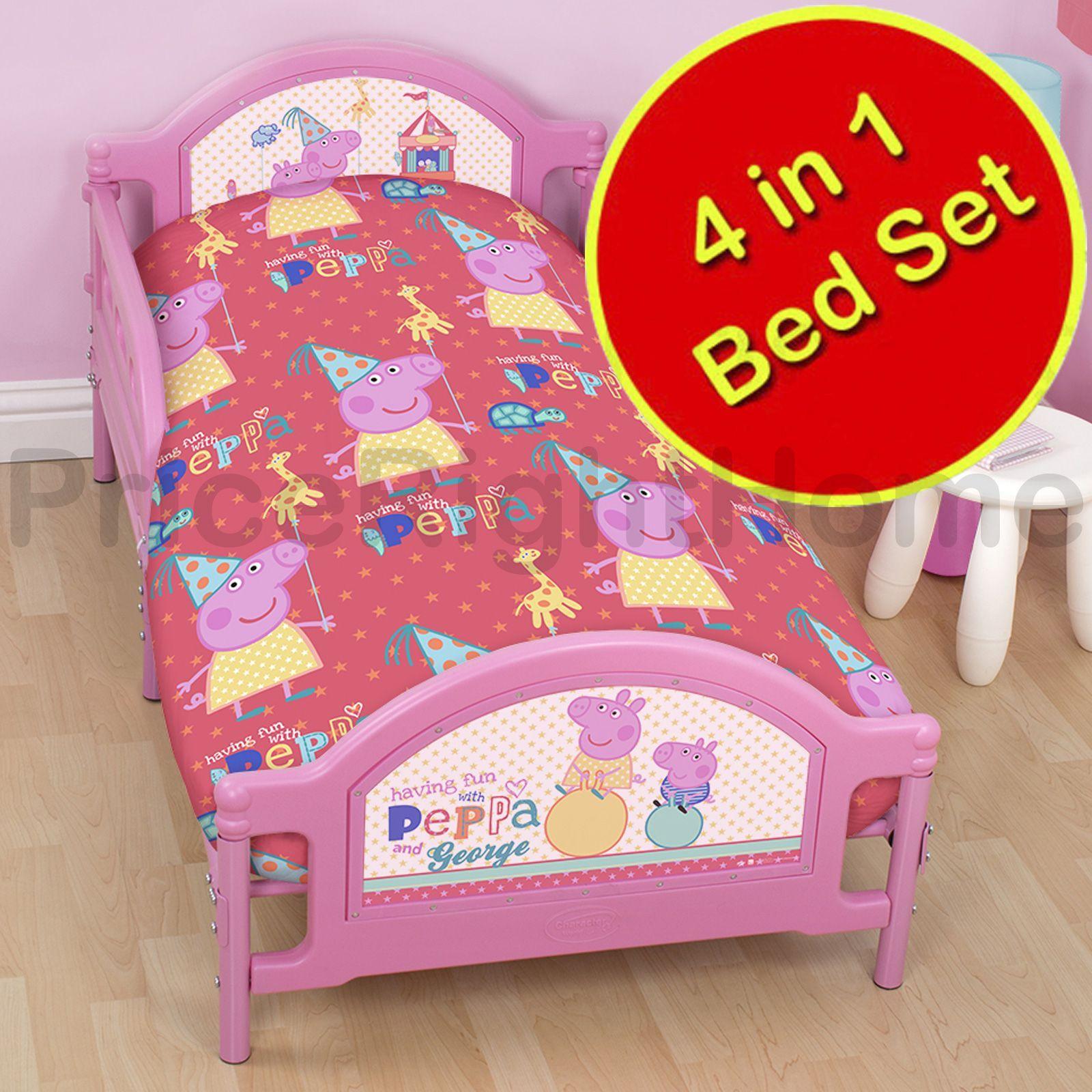 Peppa Pig Bedroom Furniture Peppa Pig Funfair Bedroom Range Duvet Covers Junior Bedding
