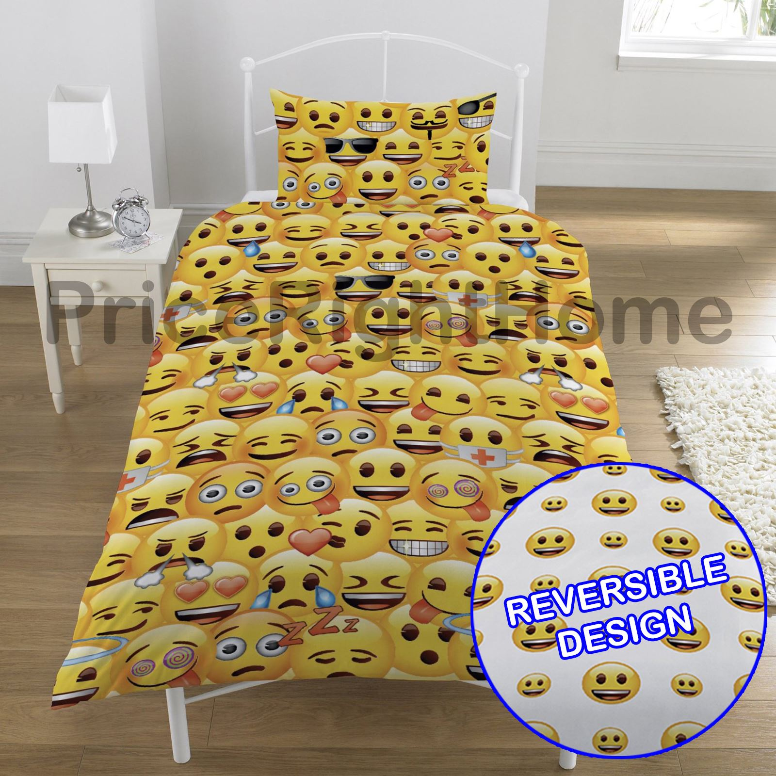 Emoji Duvet Cover Sets Single Amp Double Available Funny