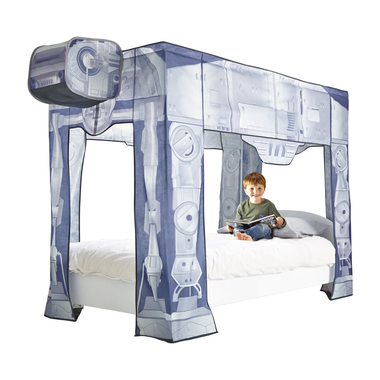 Star Wars At At Single Bed Canopy New Official
