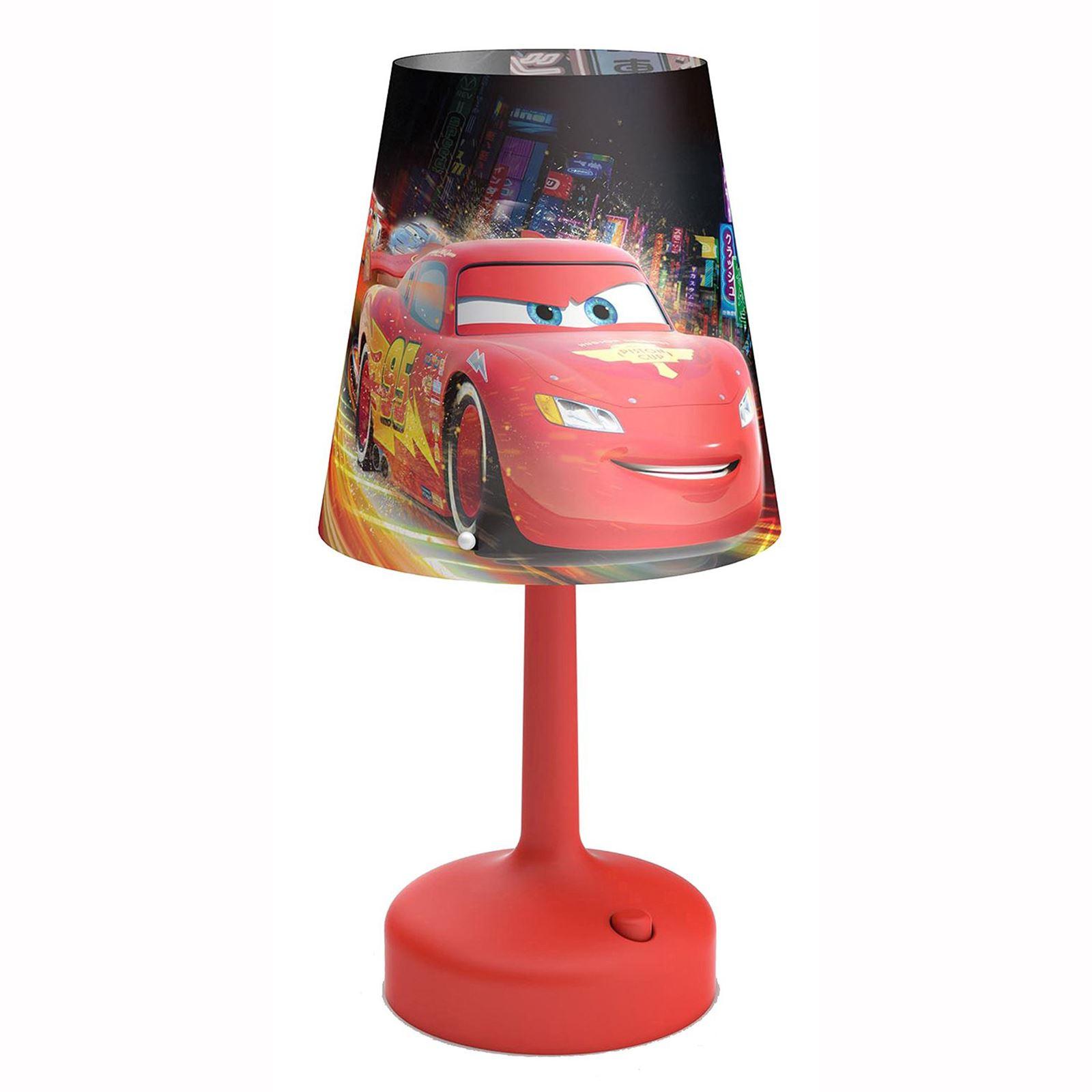 Disney Cars Portable Desk Table Lamp RED Kids Bedroom Lighting NEW Free P P : eBay