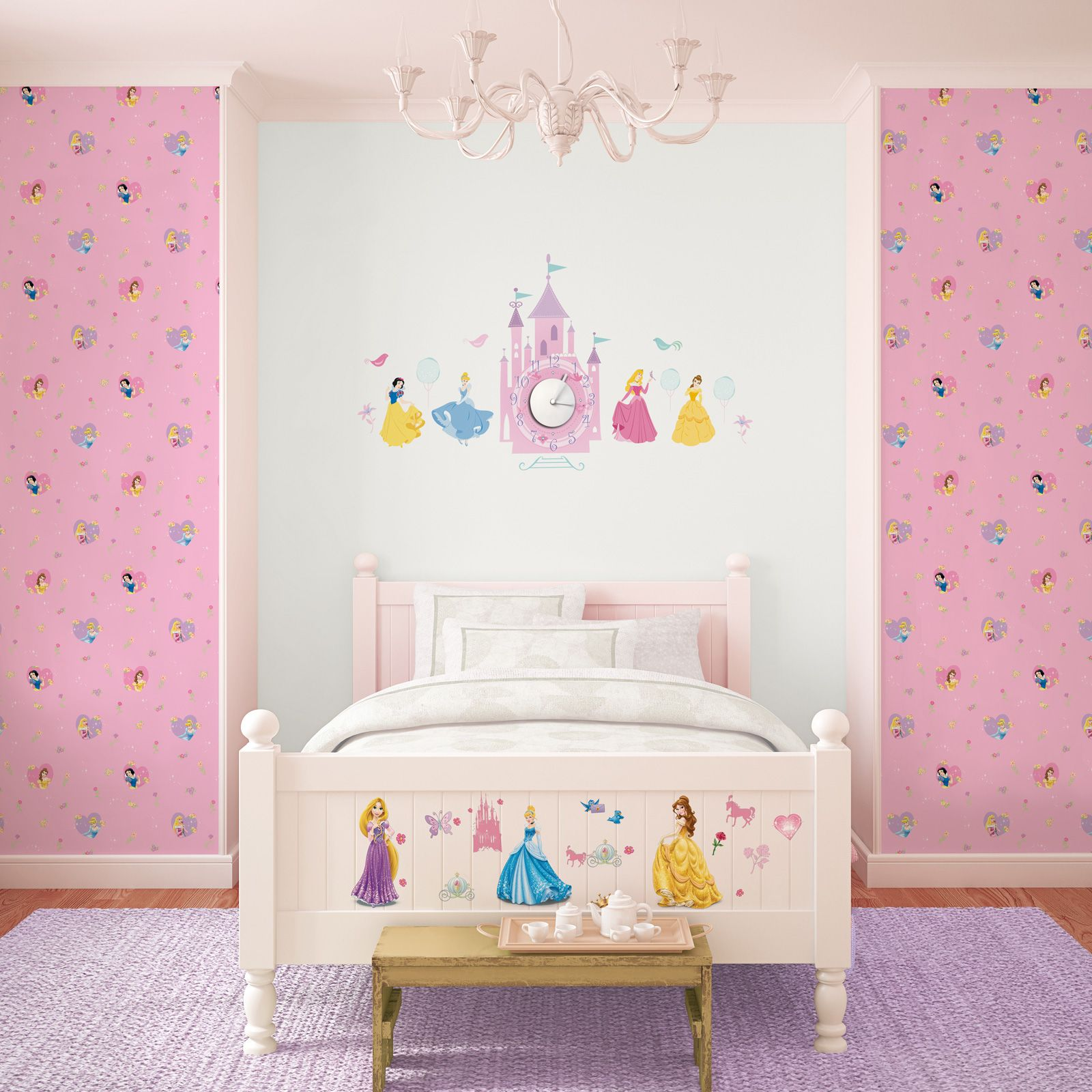 childrens bedroom wallpaper disney character designs