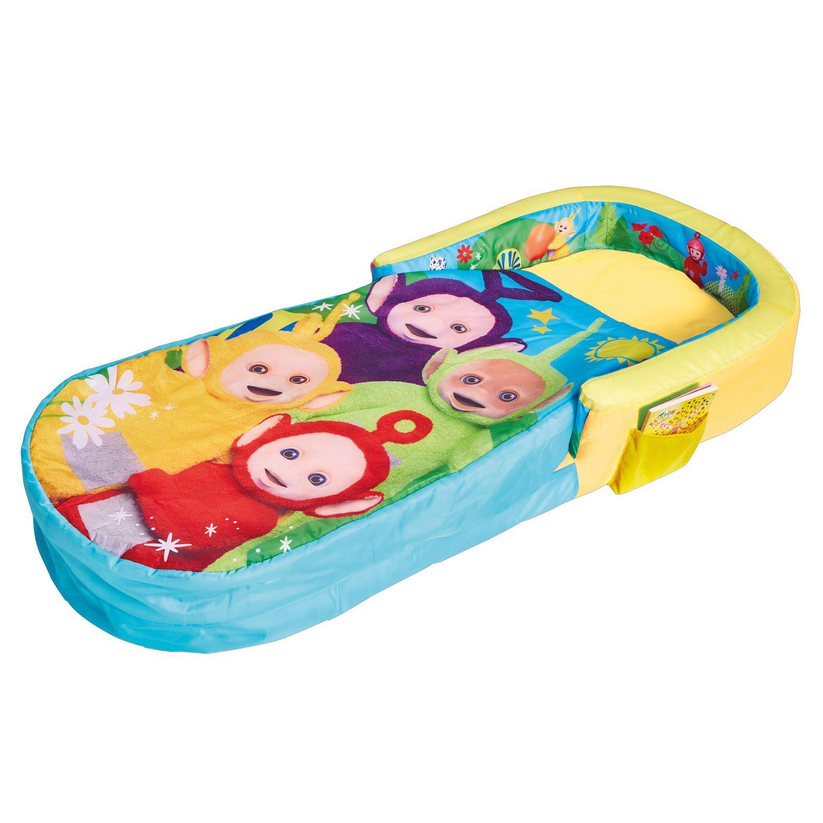 Enfants lit pr t gonflable air lits id al pour camping soir es pyjama ebay - Lit enfant gonflable ...