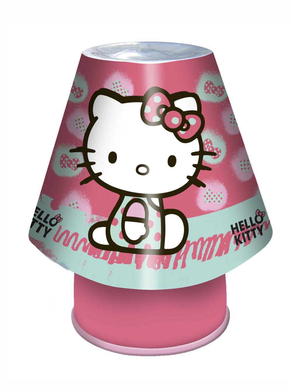 hello kitty bedside kool lamp new light girls lighting ebay. Black Bedroom Furniture Sets. Home Design Ideas