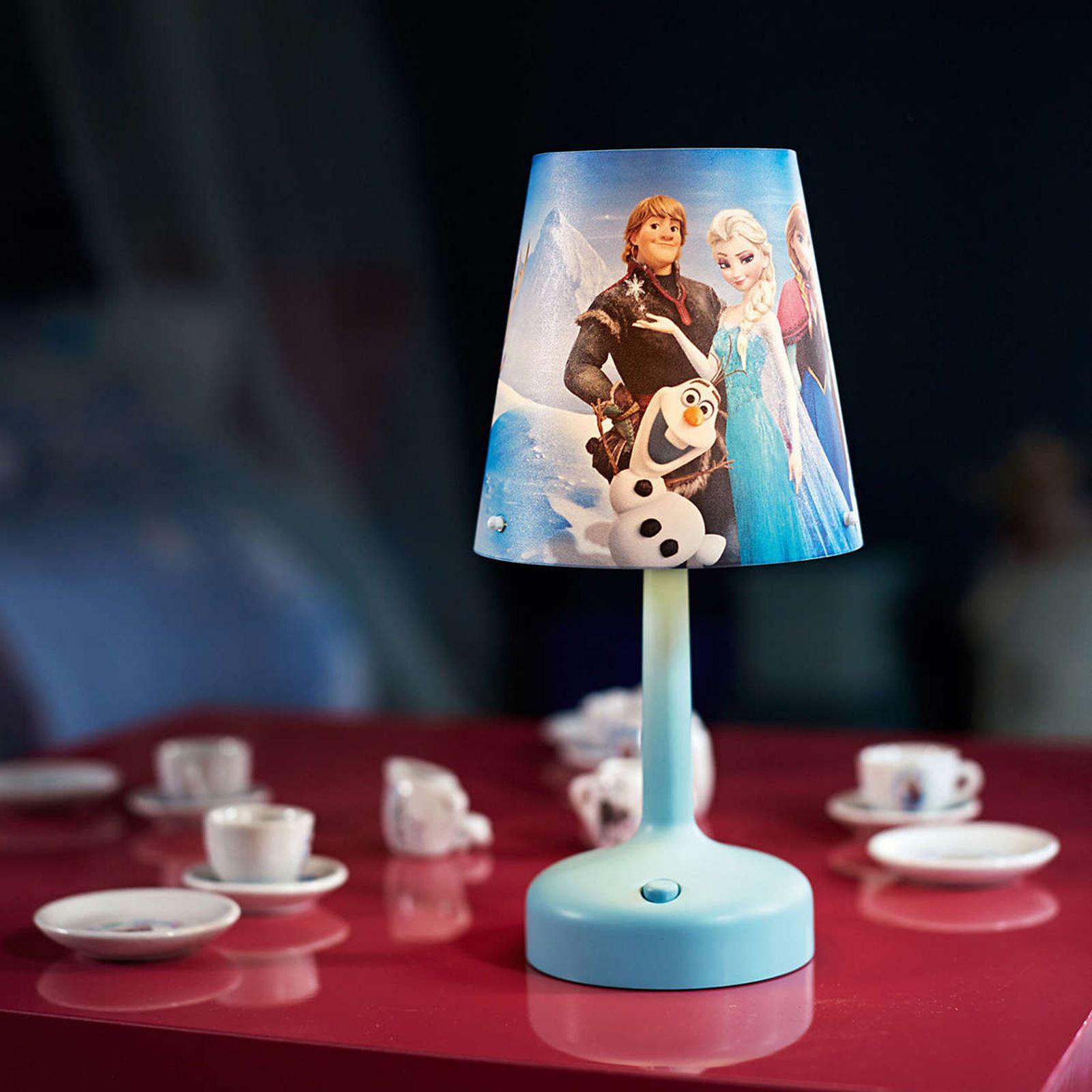 Disney Frozen Portable Table Lamp Kids Bedroom Lighting