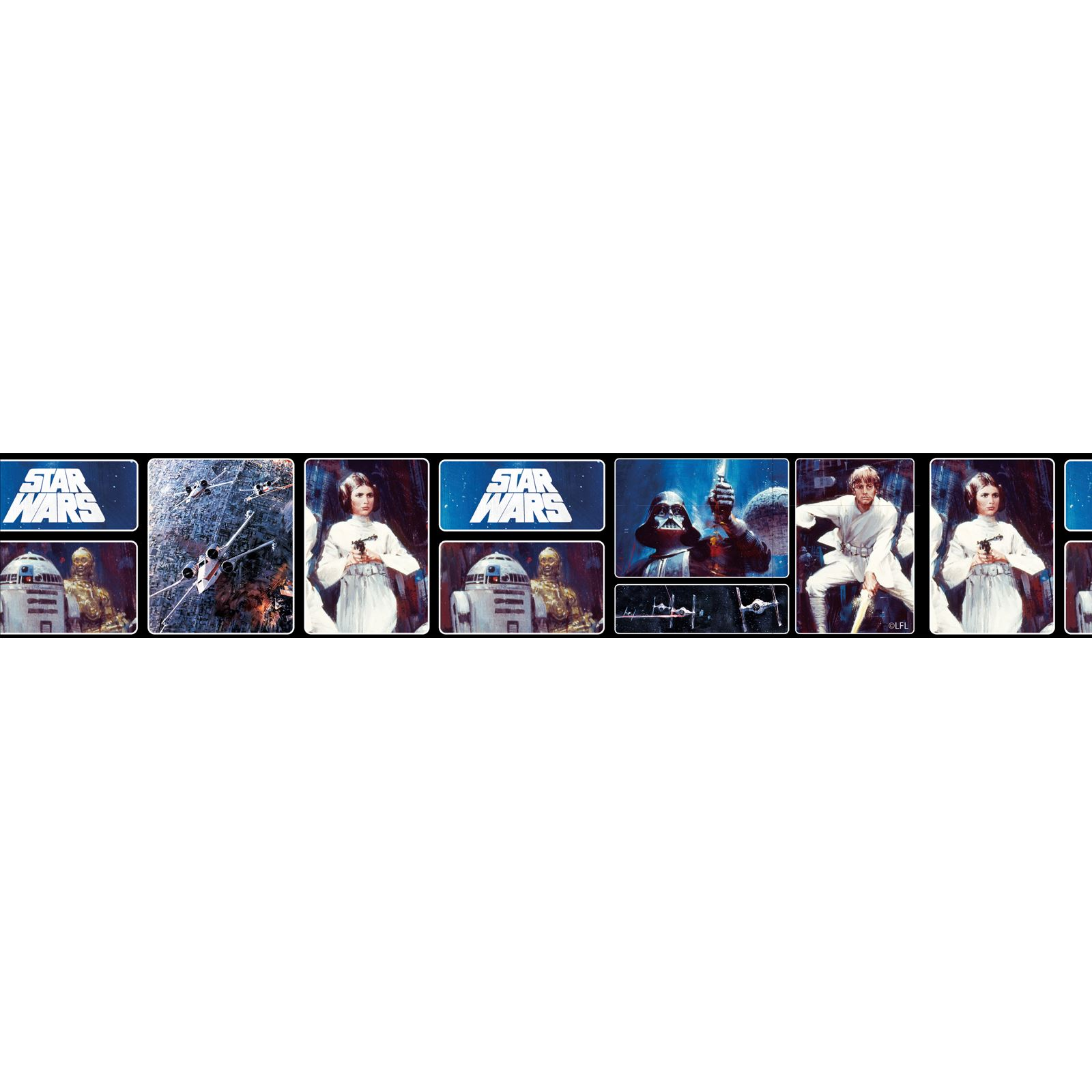 Star Wars Lego Wall Stickers Star Wars Wallpaper Borders 5m Various Styles Designs New