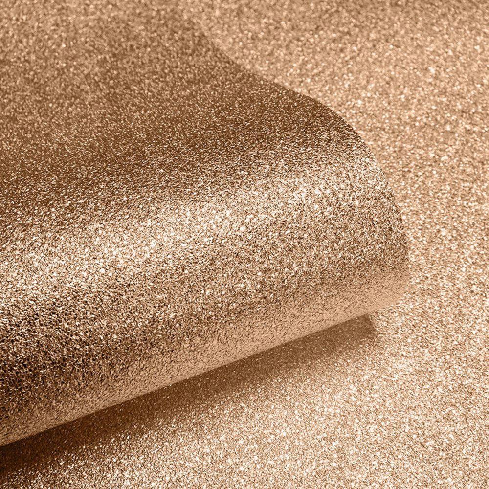 Textured Sparkle Wallpaper Copper Muriva 701374