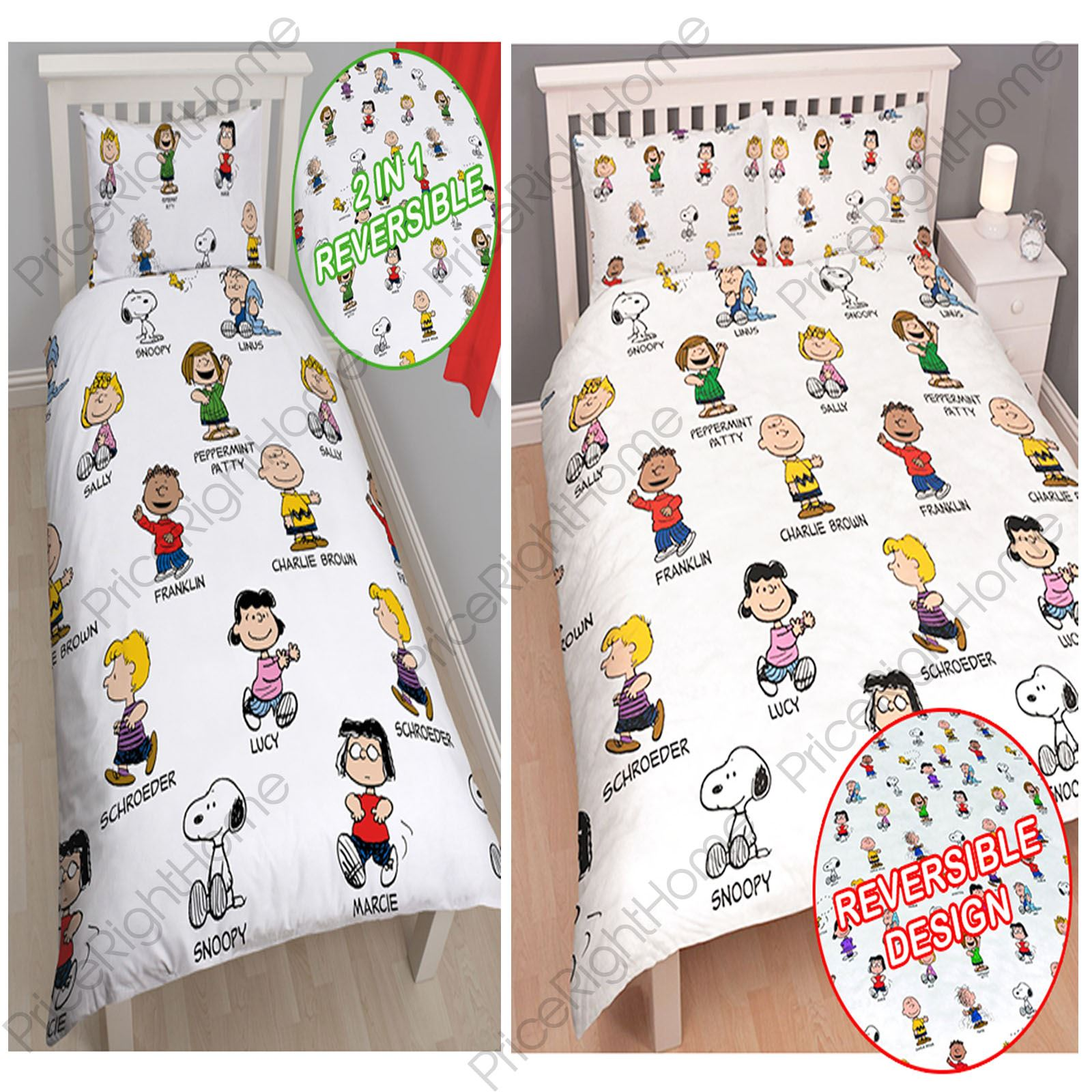 Peanuts Snoopy Single Amp Double Duvet Covers Bedding