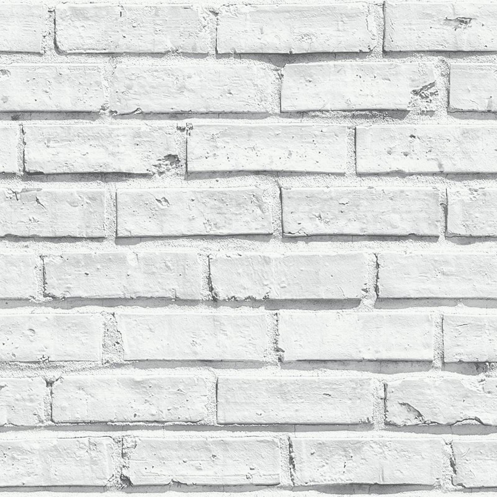 WHITE BRICK WALLPAPER
