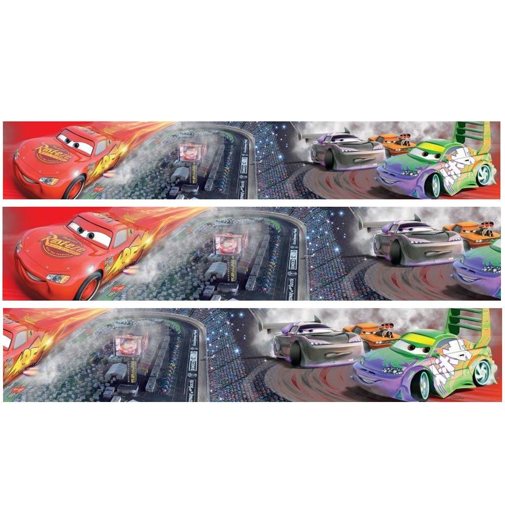 Selbstklebende Tapete Cars : Disney Cars Wall Border