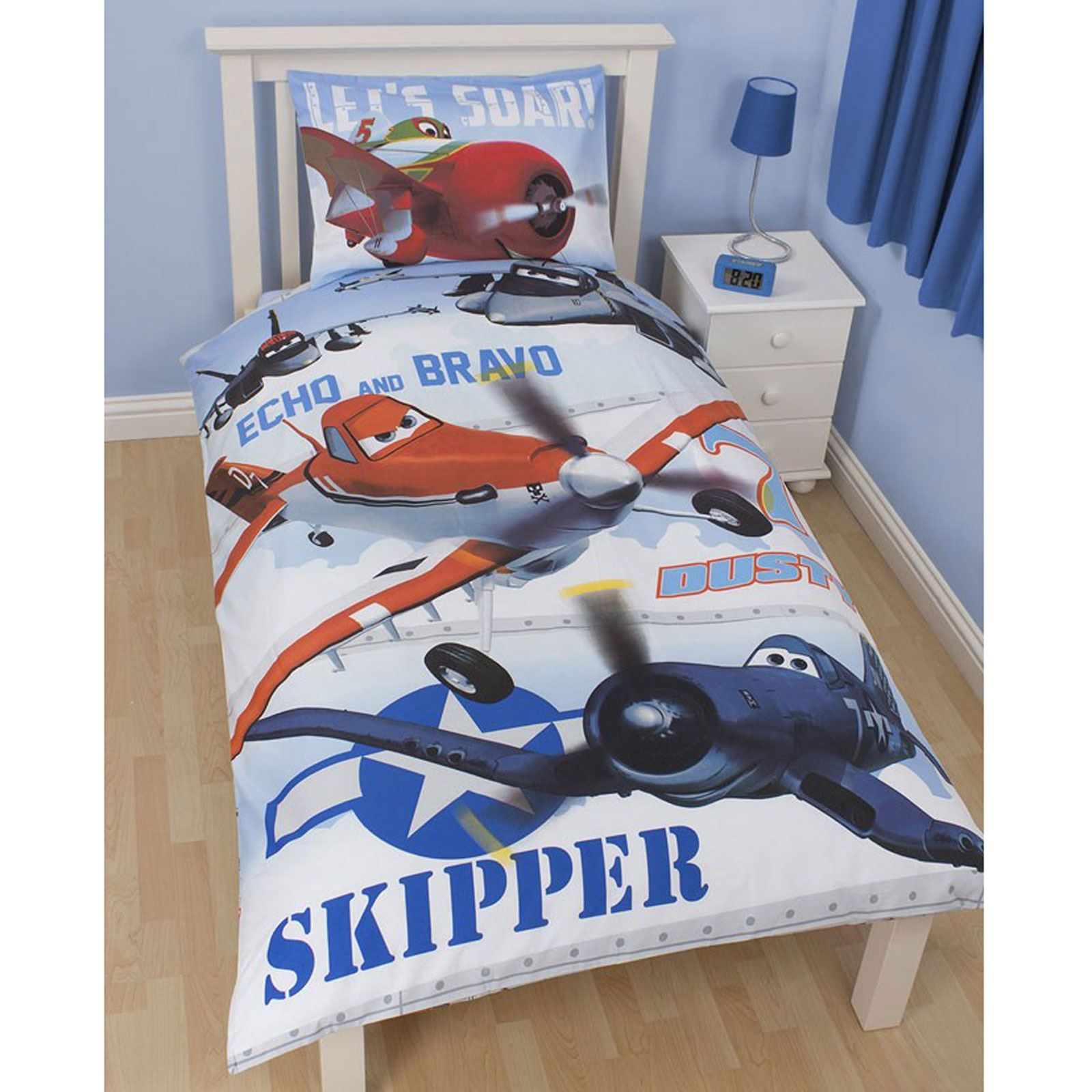 DISNEY PLANES BEDDING AND BEDROOM ACCESSORIES FREE DELIVERY