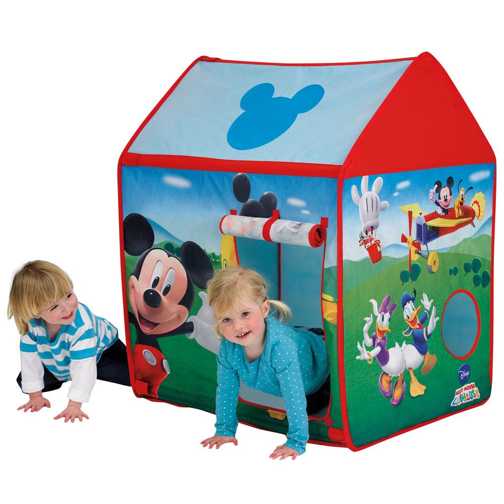 childrens disney and character pop up play tent wendy house. Black Bedroom Furniture Sets. Home Design Ideas