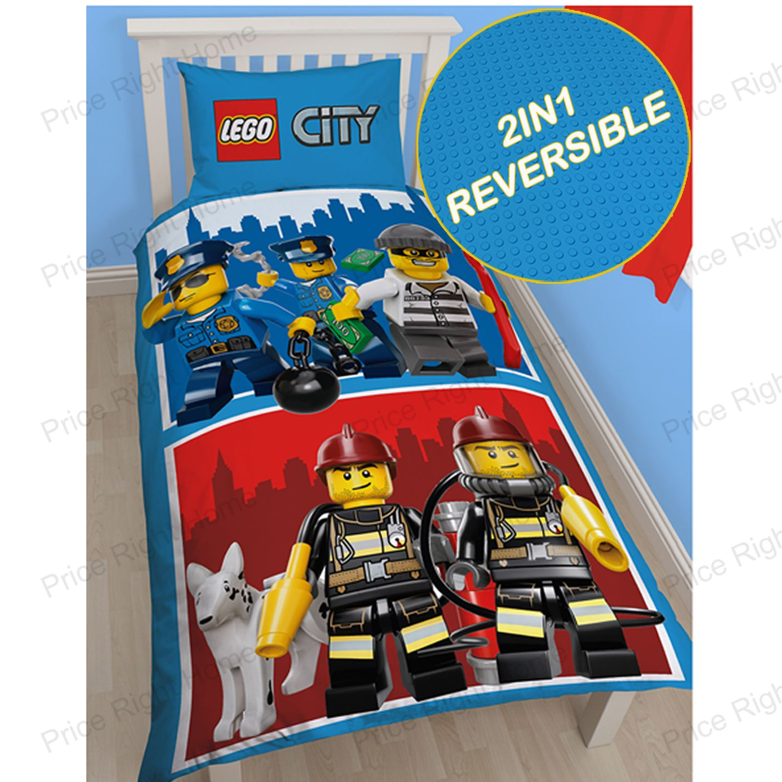 Official Lego Single Duvet Covers New Ninjago Movie