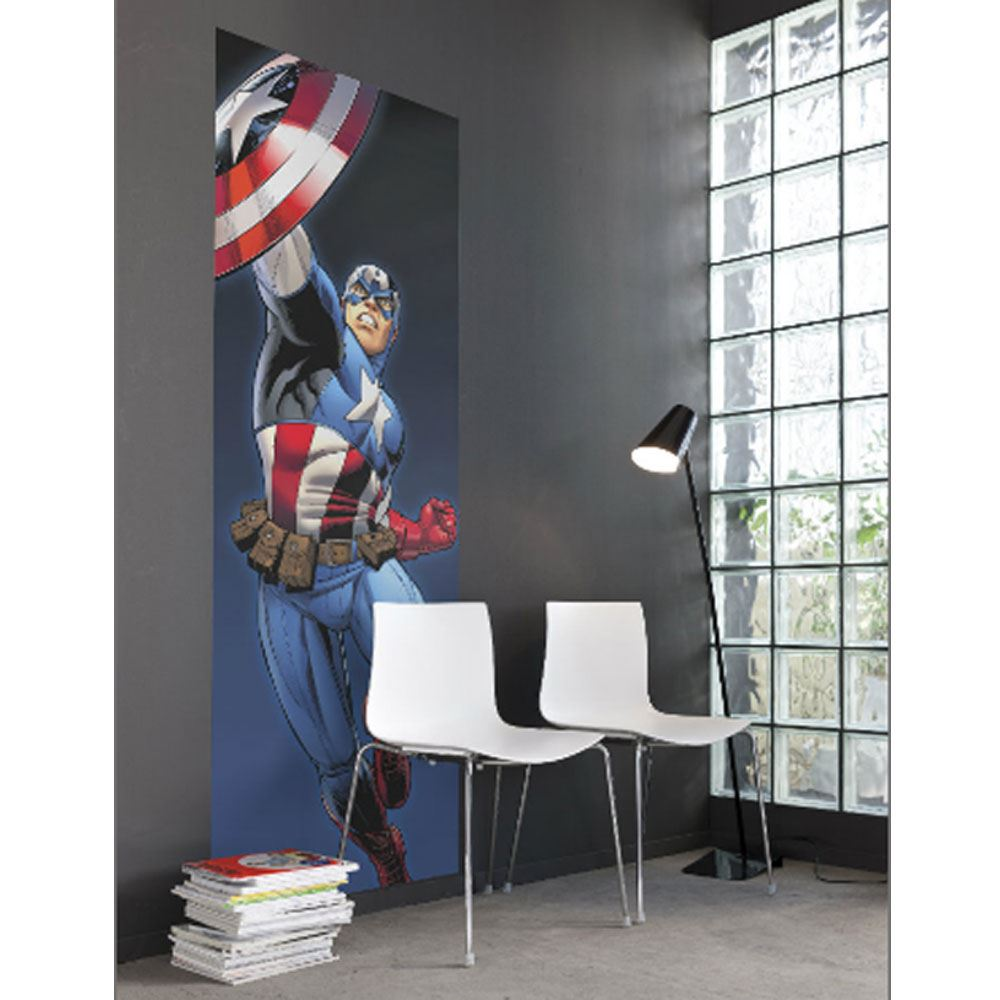 marvel comics and avengers wallpaper wall murals d cor bedroom ebay
