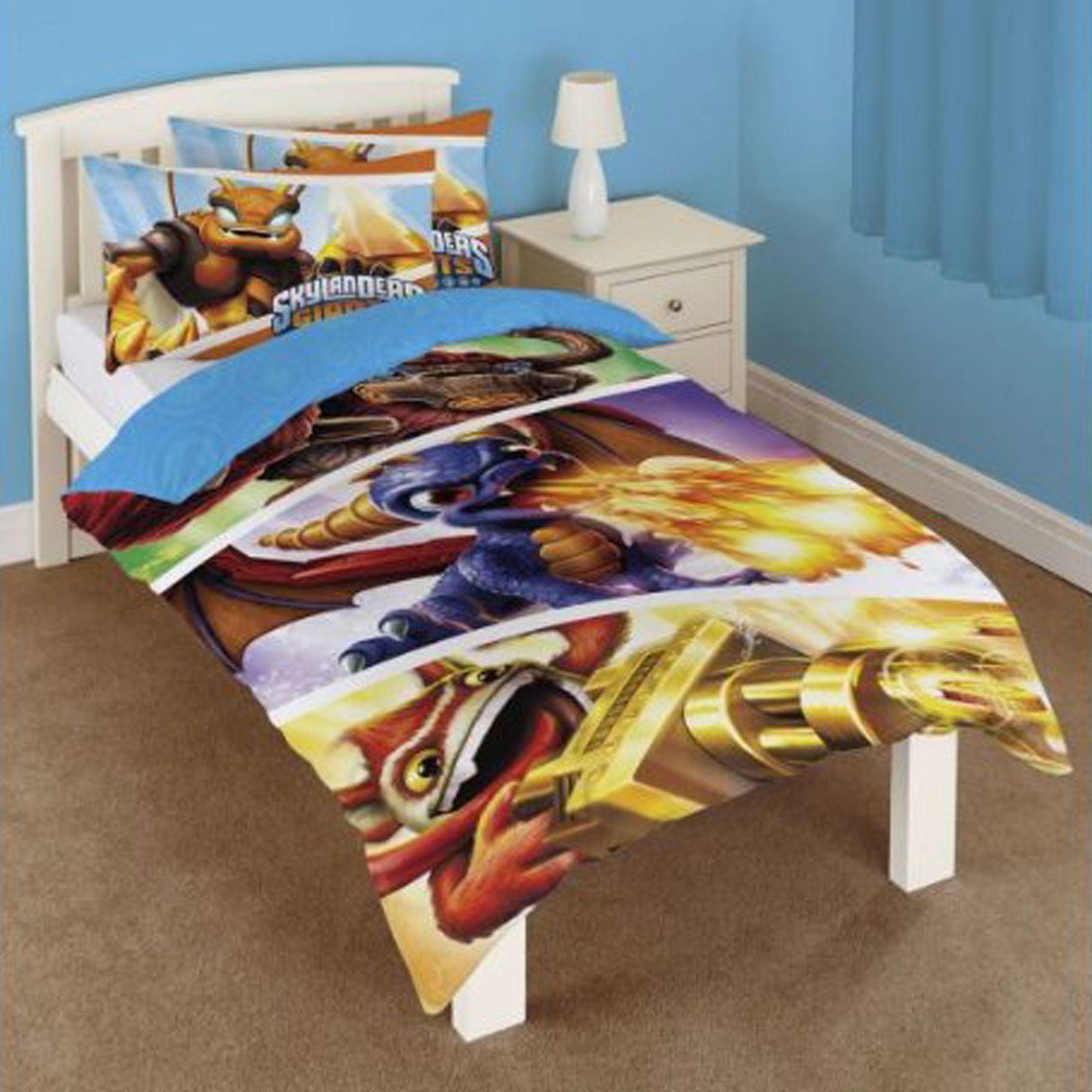 skylanders giants single duvet cover new official bedding