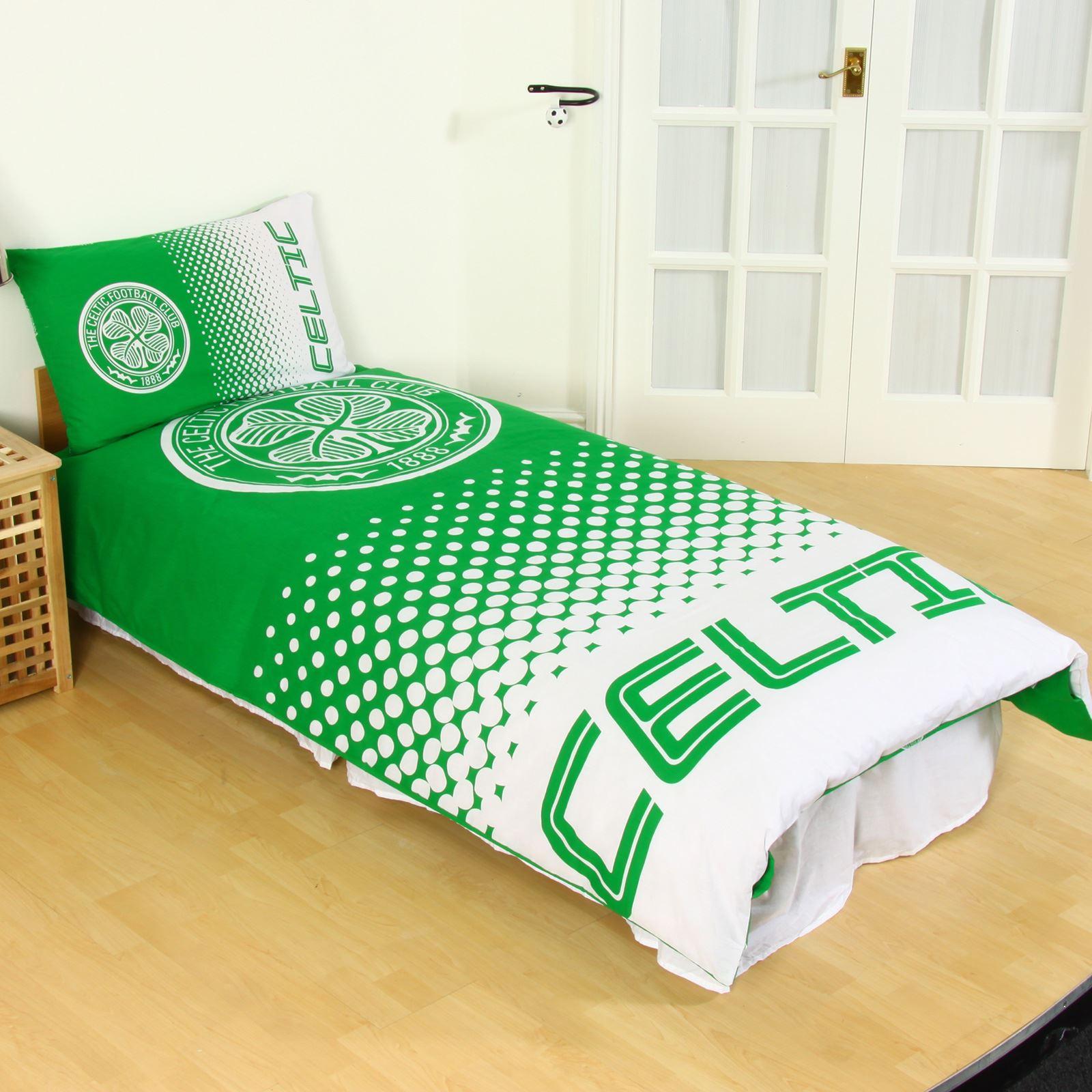 Celtic Fc Single Duvet Cover Set New Official Football