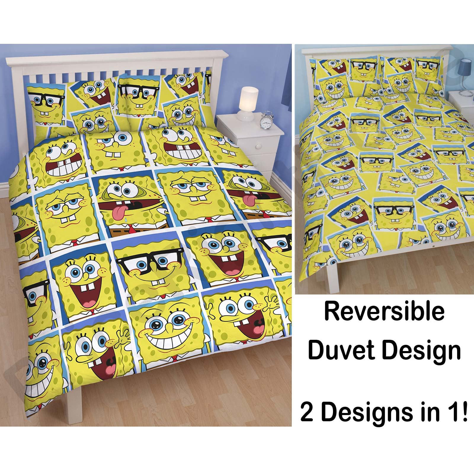 KIDS DISNEY AND CHARACTER DOUBLE DUVET COVERS - CHILDREN'S BEDDING SETS