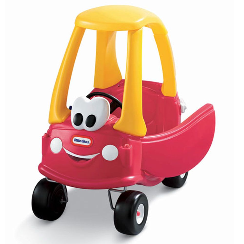 Little tikes cozy coupe 30th anniversary edition kids for Little tikes motorized vehicles