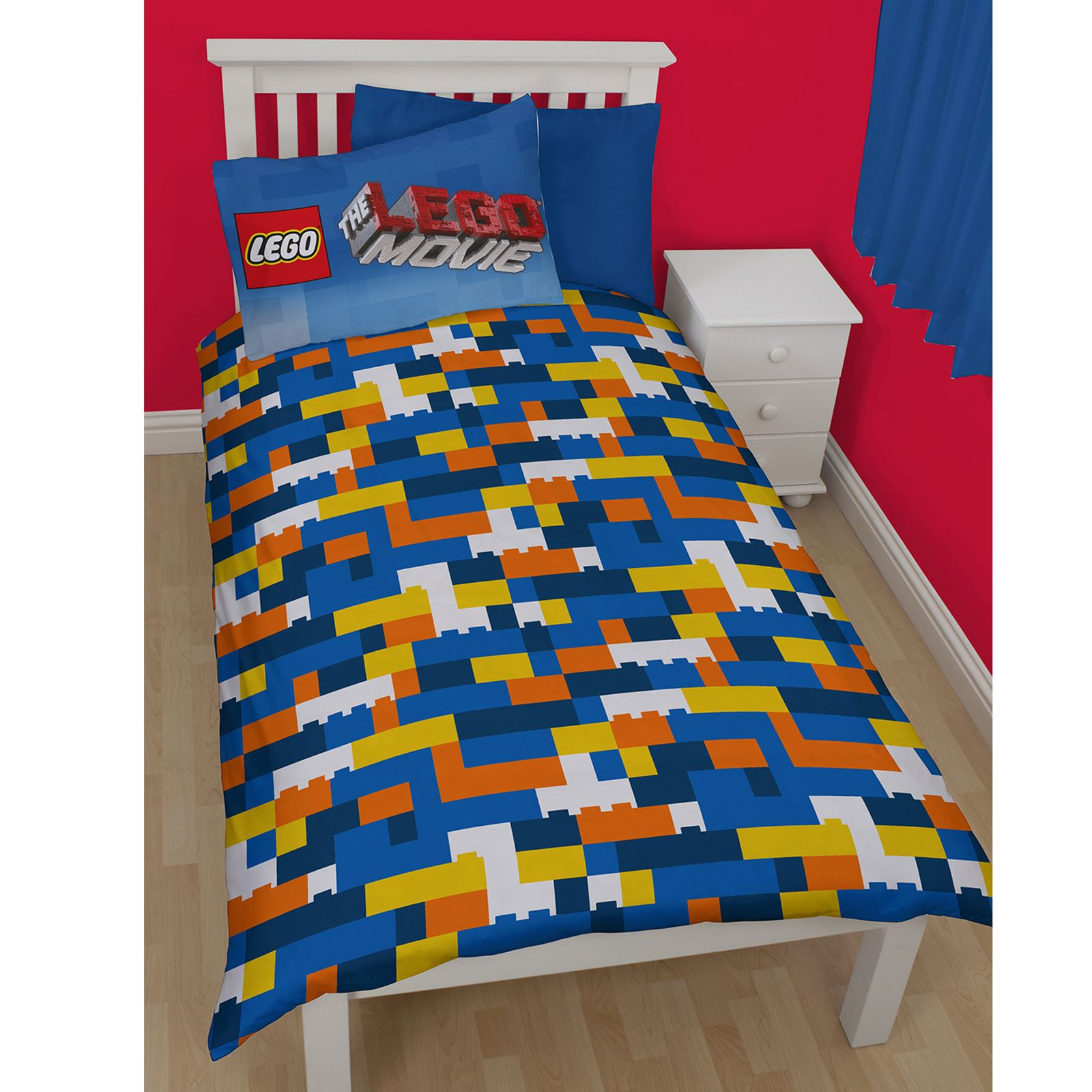 ficial lego einzeln stepp bettdecke abdeckungen stadt film ninjago ebay. Black Bedroom Furniture Sets. Home Design Ideas