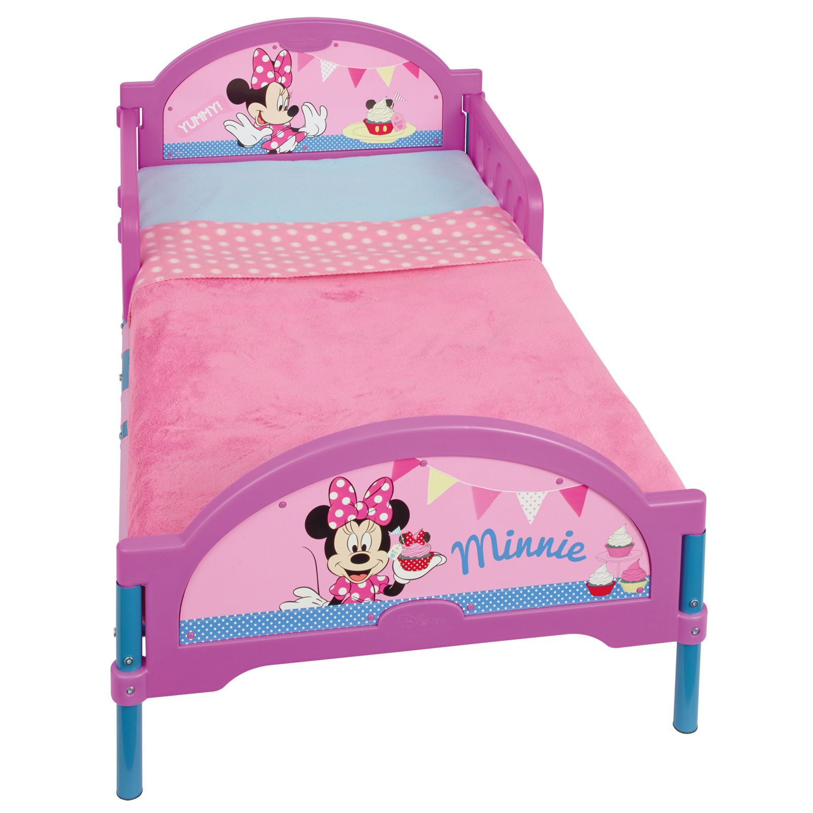 MINNIE MOUSE COSYTIME TODDLER BED NEW 100% OFFICIAL | eBay
