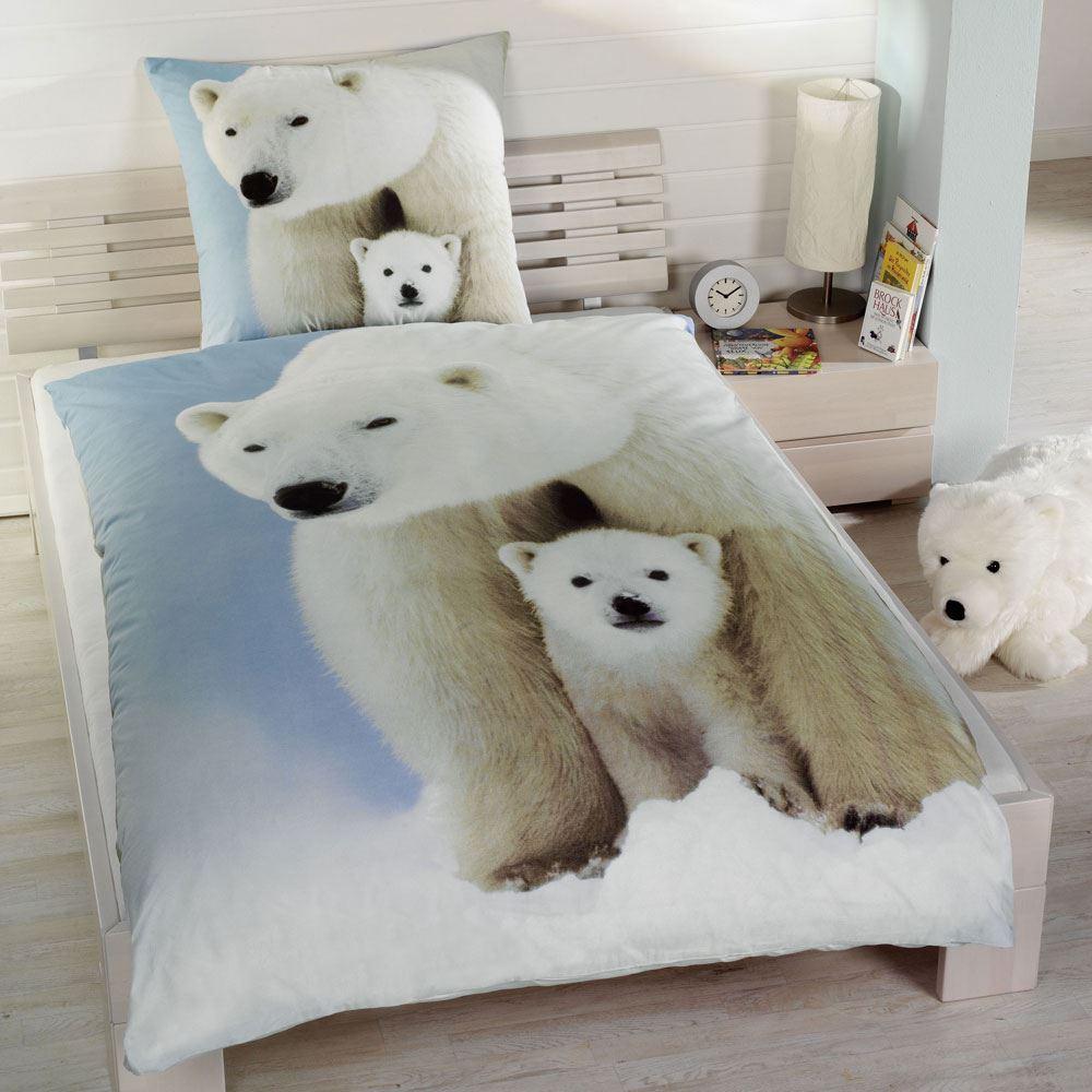 tier bettw sche 100 baumwolle bettbez ge neu schlafzimmer pferde welpen katzen ebay. Black Bedroom Furniture Sets. Home Design Ideas