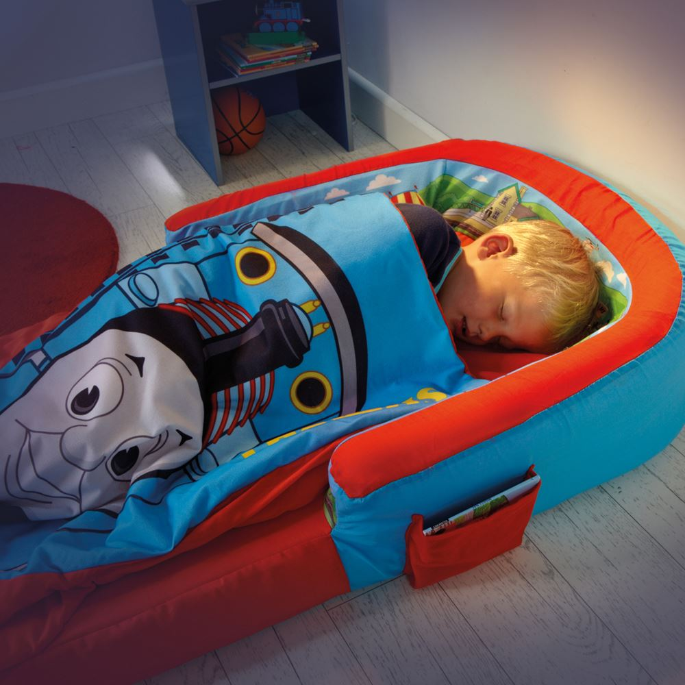 THOMAS THE TANK ENGINE BLUE KIDS TODDLER READY BED TRAVEL ...
