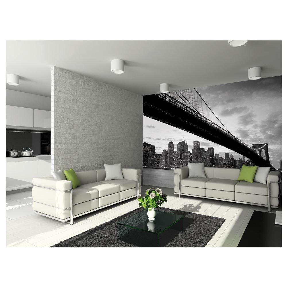Large wallpaper feature wall murals landscapes for Wallpaper home hardware