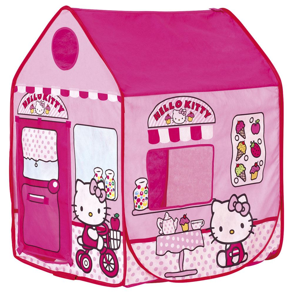 Cool bedroom furniture for girls - Details About Hello Kitty Play Shop Tent Wendy House New 100 Official