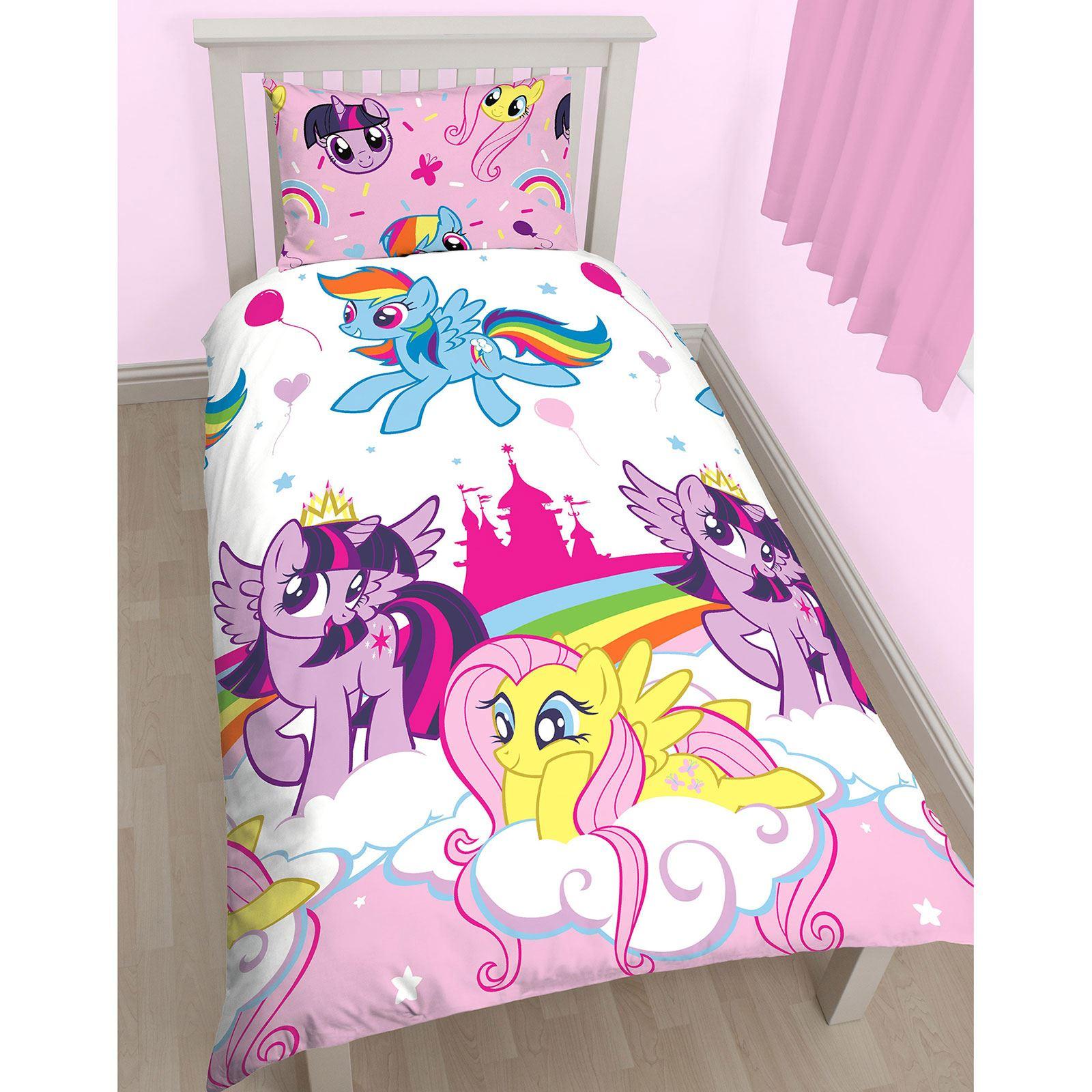 my little pony equestria single duvet cover set kids