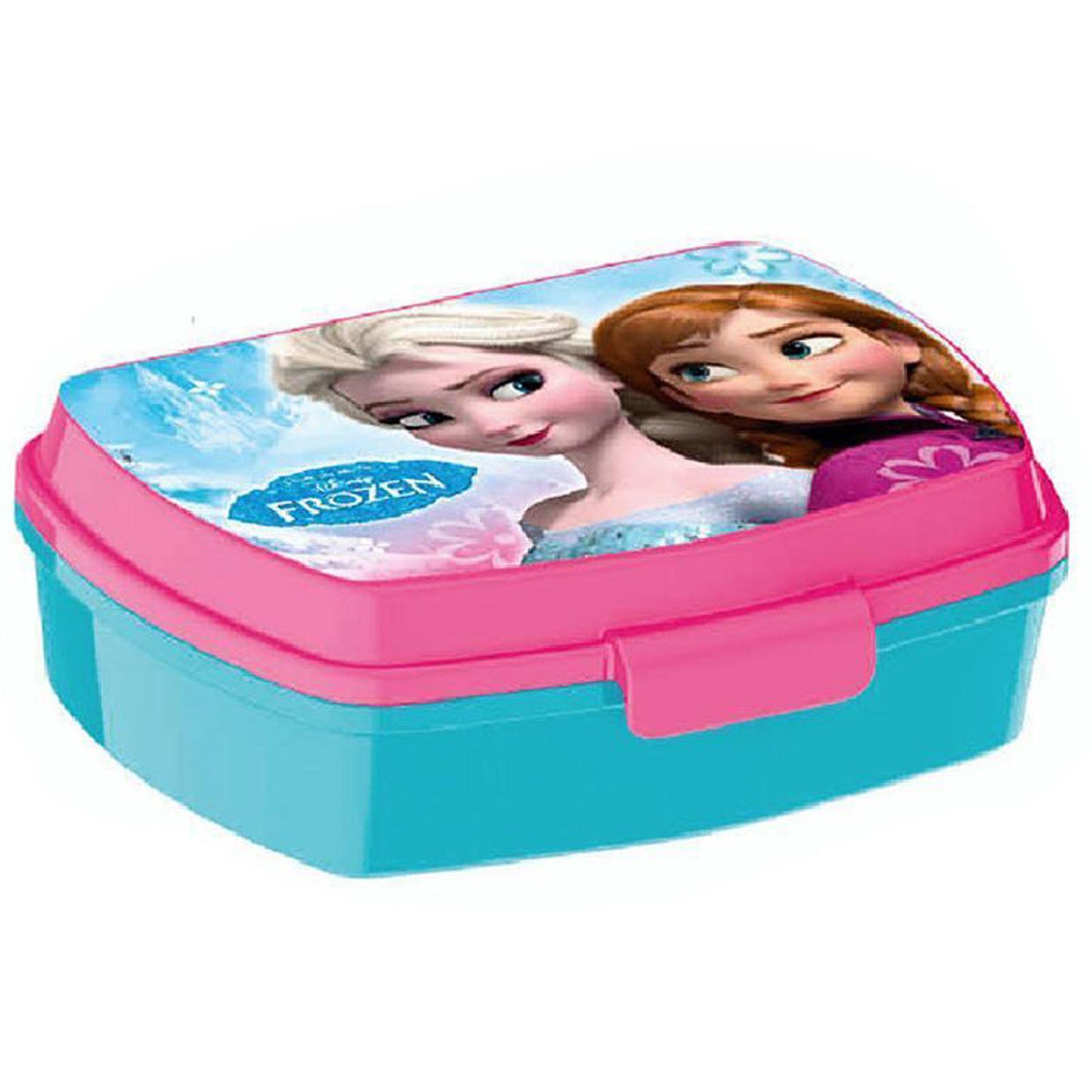 Disney Frozen Plastic Lunch Box New Official Ebay
