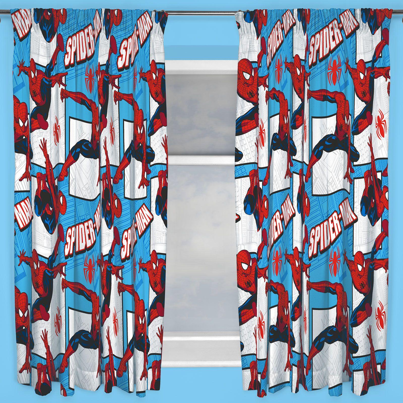 Marvel Spiderman « Parker » 167 6cm X 137 2cm Rideaux