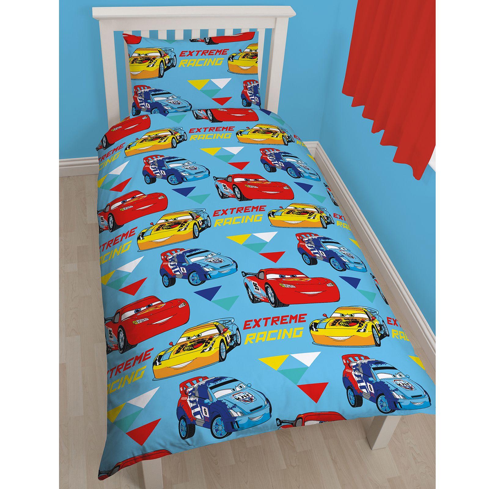 Disney cars copripiumini singolo doppio letto bambini saetta mcqueen ebay - Piumini letto singolo bambini ...