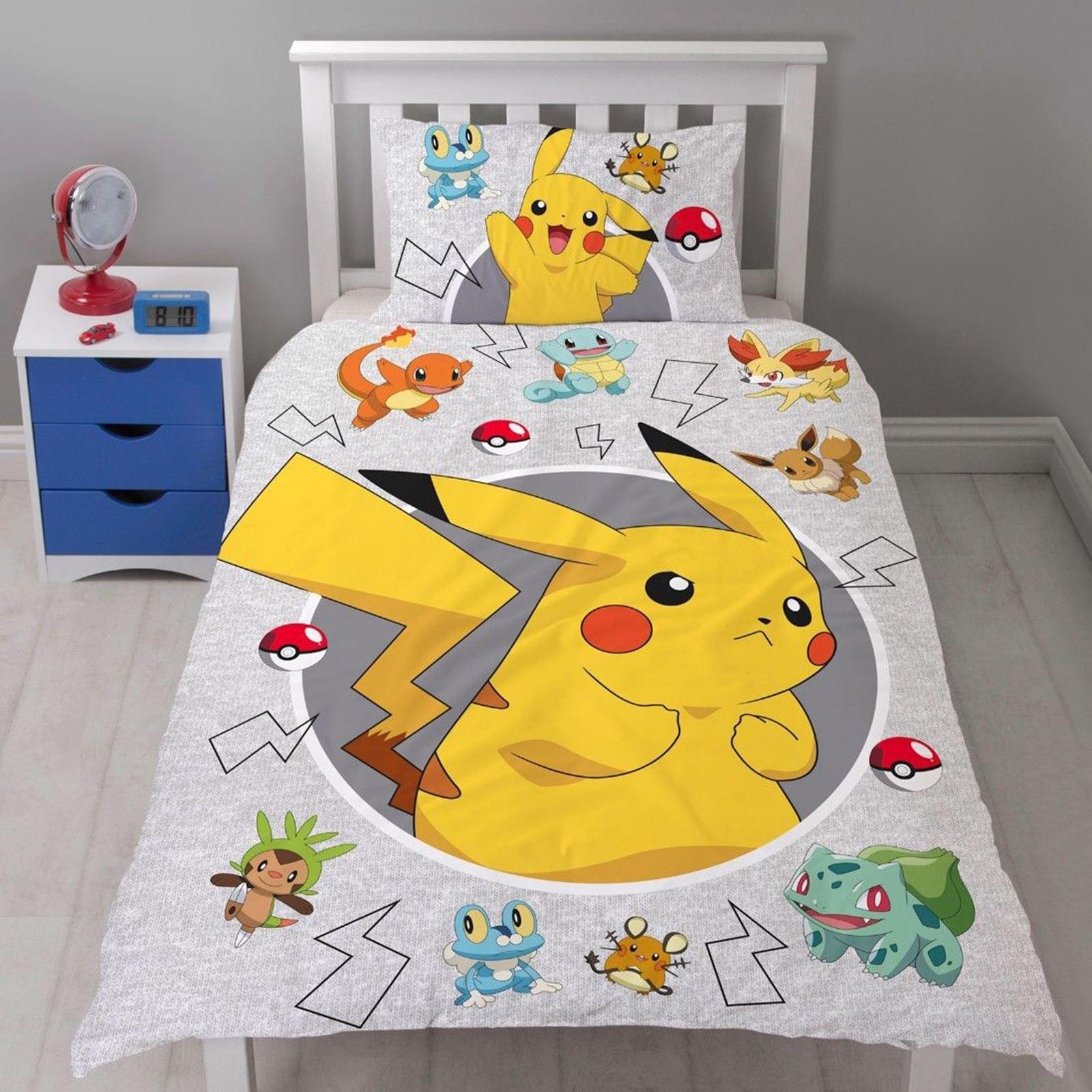 Pokemon Duvet Cover Sets Kids Bedding Single Amp Double
