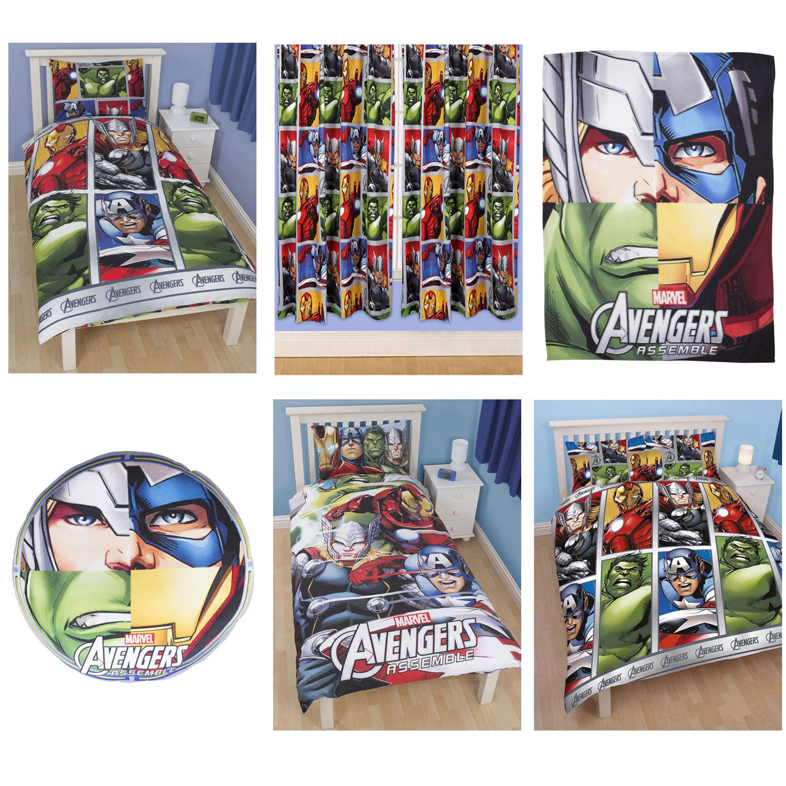 Marvel Baby Gifts Uk : Official avengers marvel comics bedding bedroom