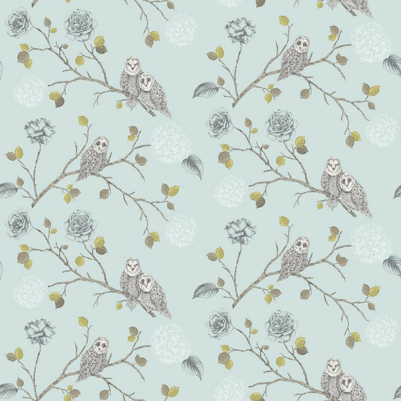 OWLS WALLPAPER CHOOSE FROM 6 DESIGNS NEW WALL DECOR FEATURE FREE PP