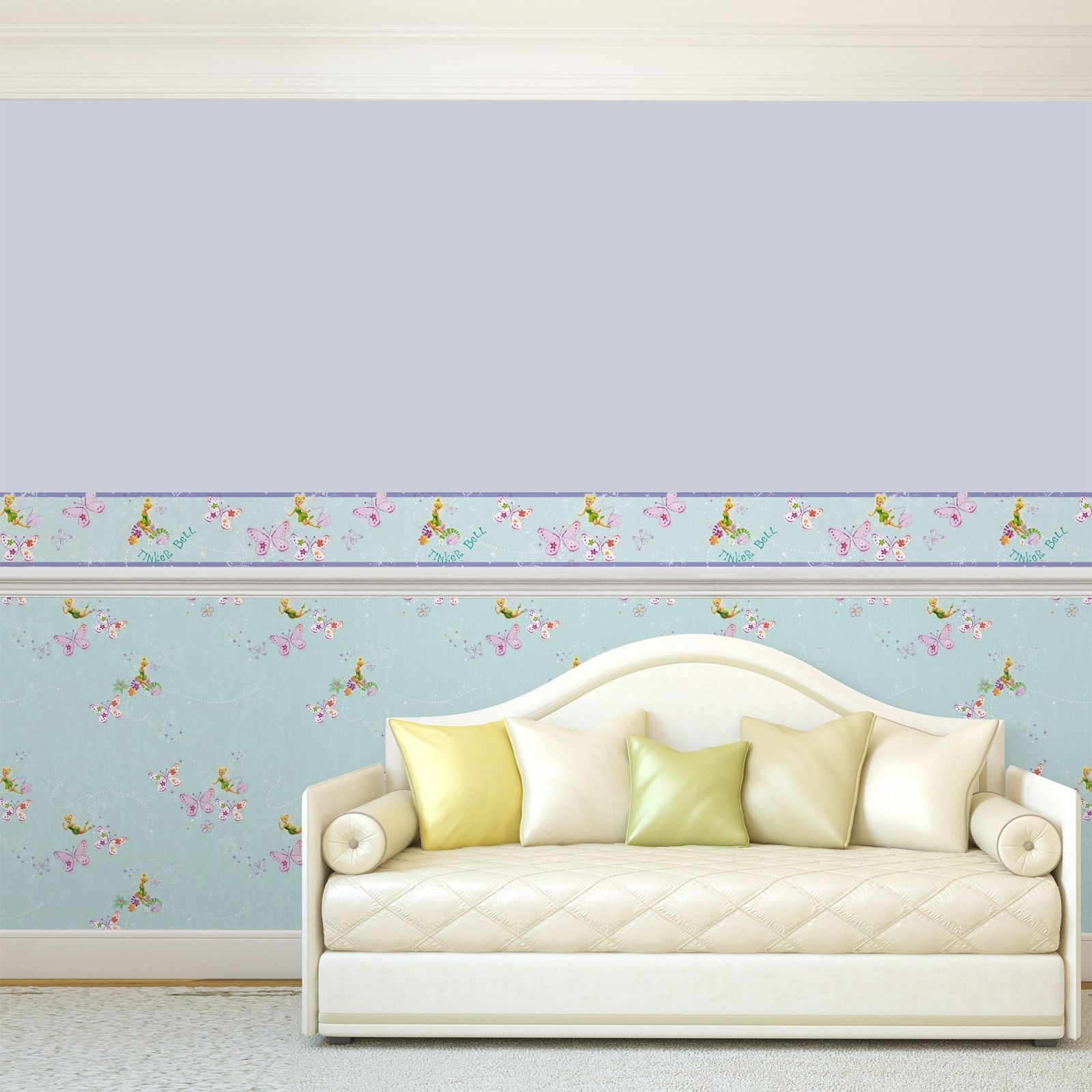 official disney fairies tink wallpaper and borders bedroom decor