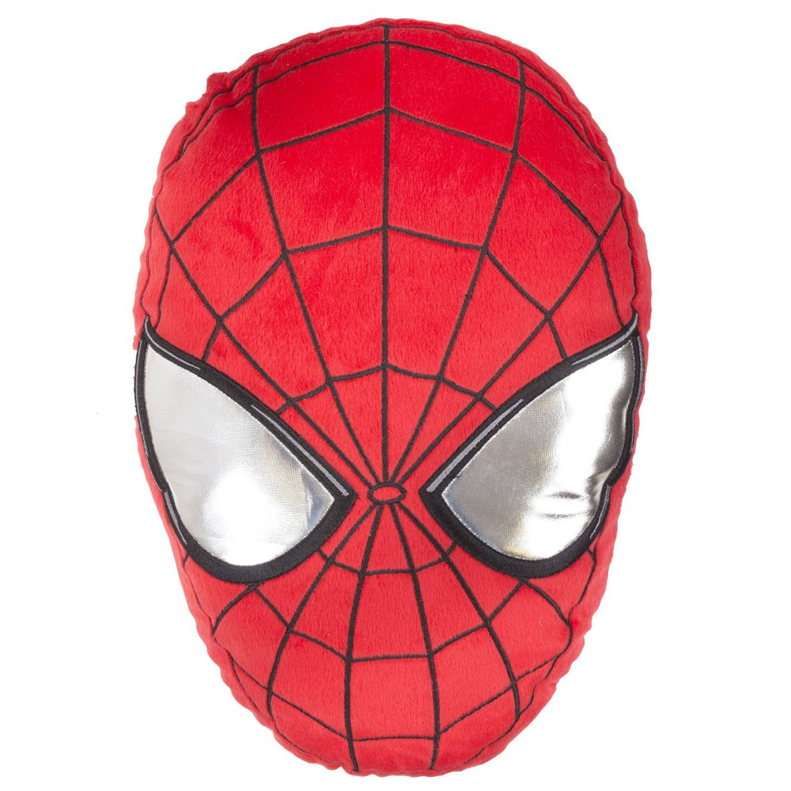 SPIDER-MAN HEAD-SHAPED CUSHION NEW SPIDERMAN MARVEL ...