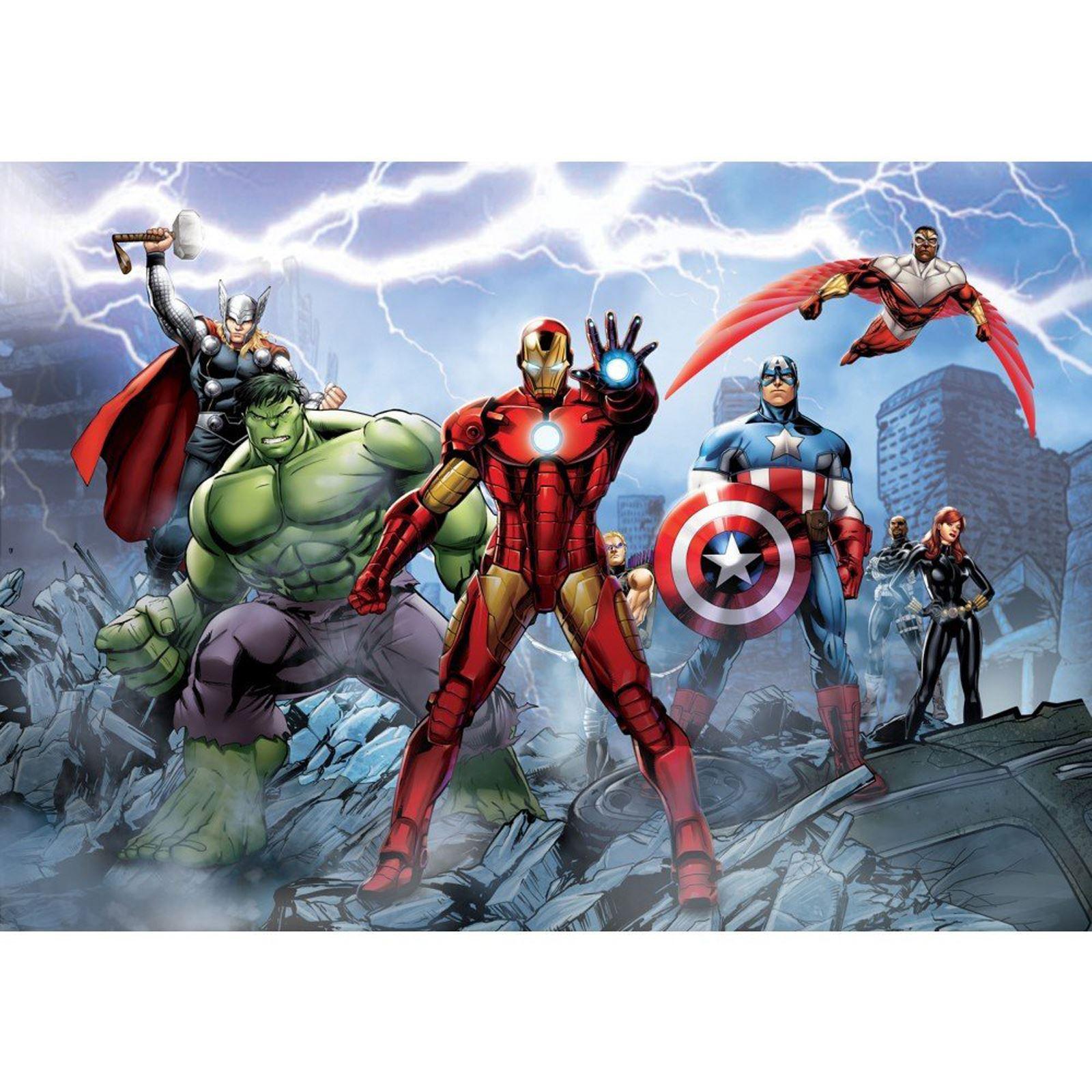 Marvel Comics And Avengers Wallpaper Wall Murals D Cor